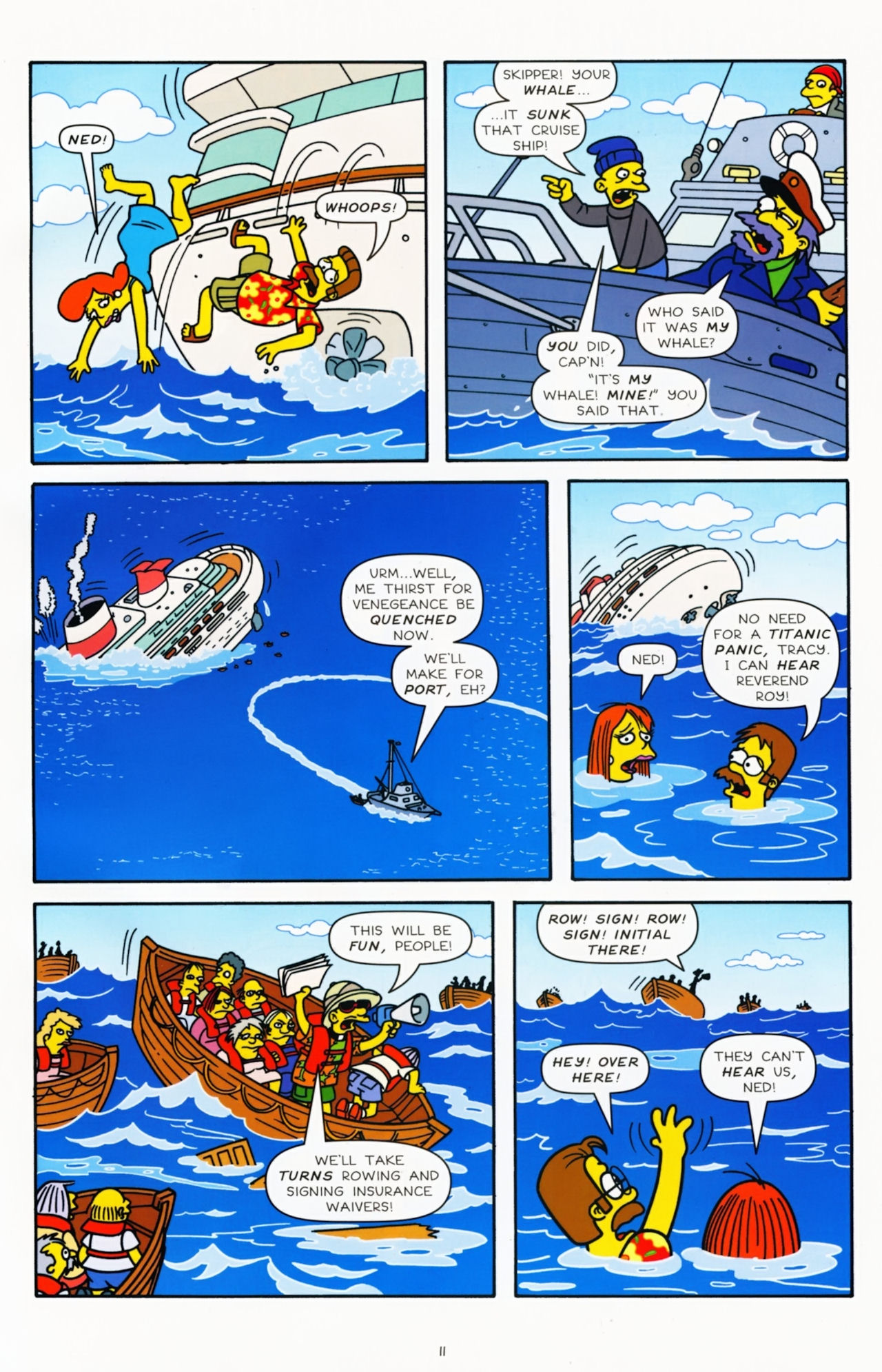 Read online Simpsons Comics comic -  Issue #181 - 10