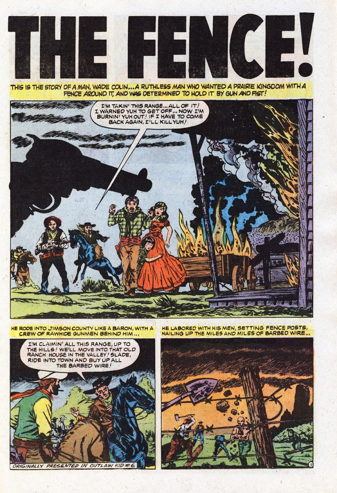 The Outlaw Kid (1970) issue 22 - Page 19