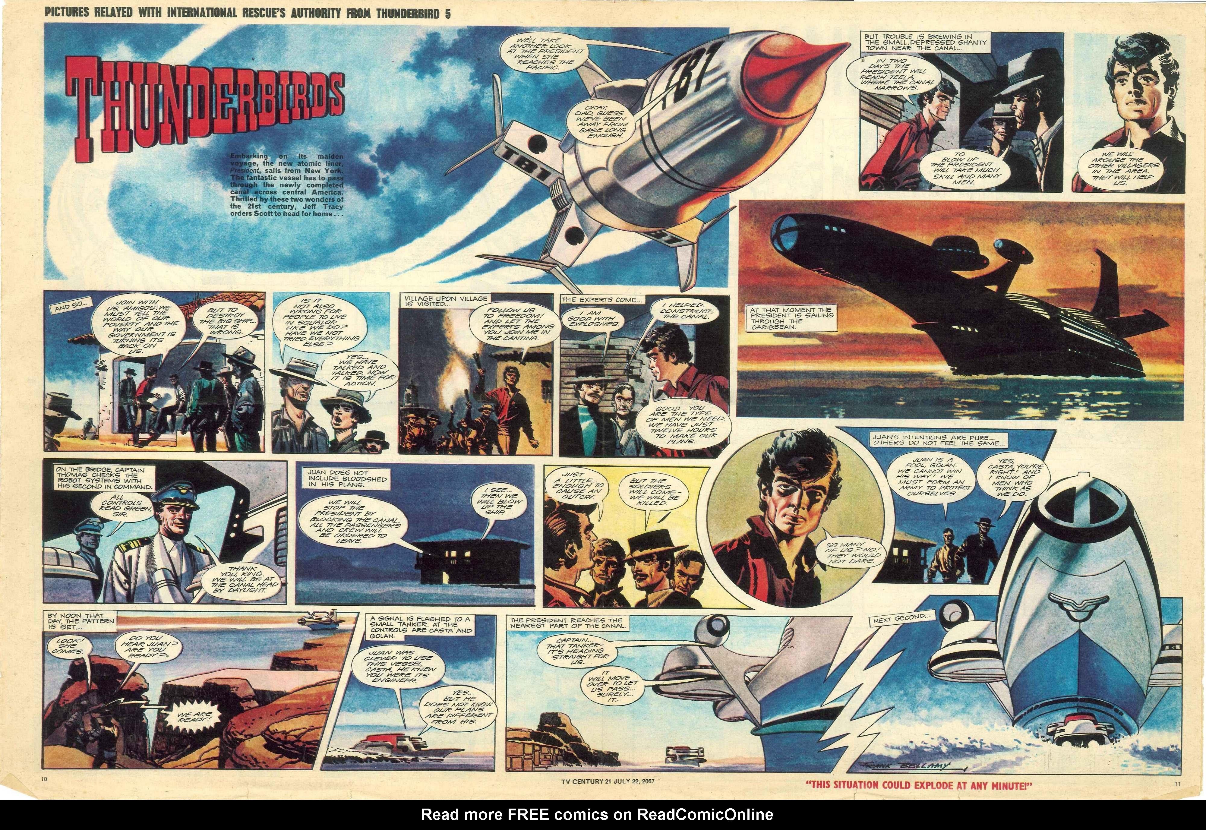 Read online TV Century 21 (TV 21) comic -  Issue #131 - 10