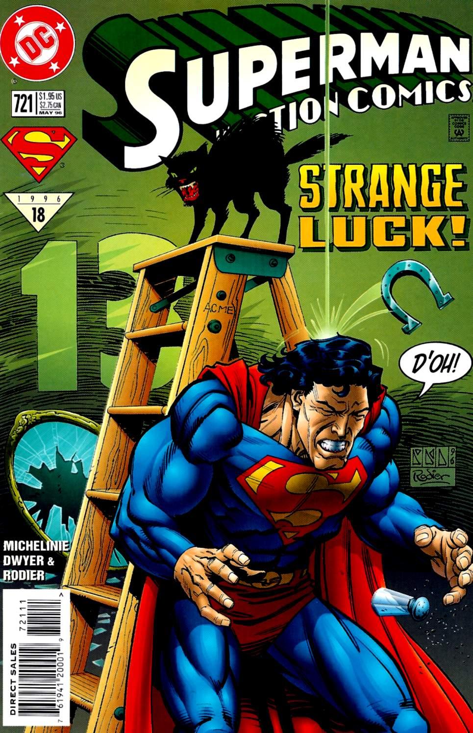 Action Comics (1938) 721 Page 1