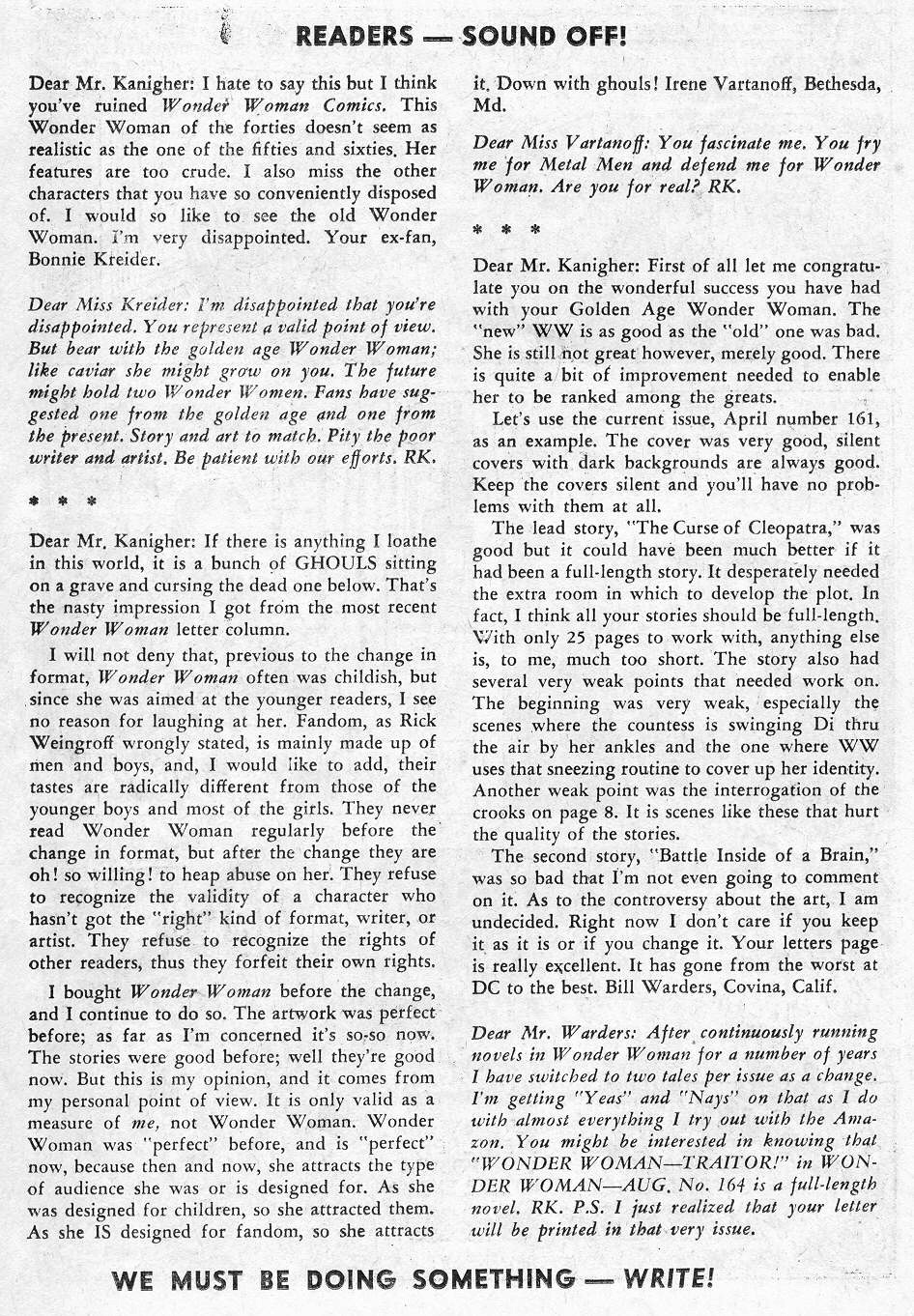 Read online Wonder Woman (1942) comic -  Issue #164 - 22
