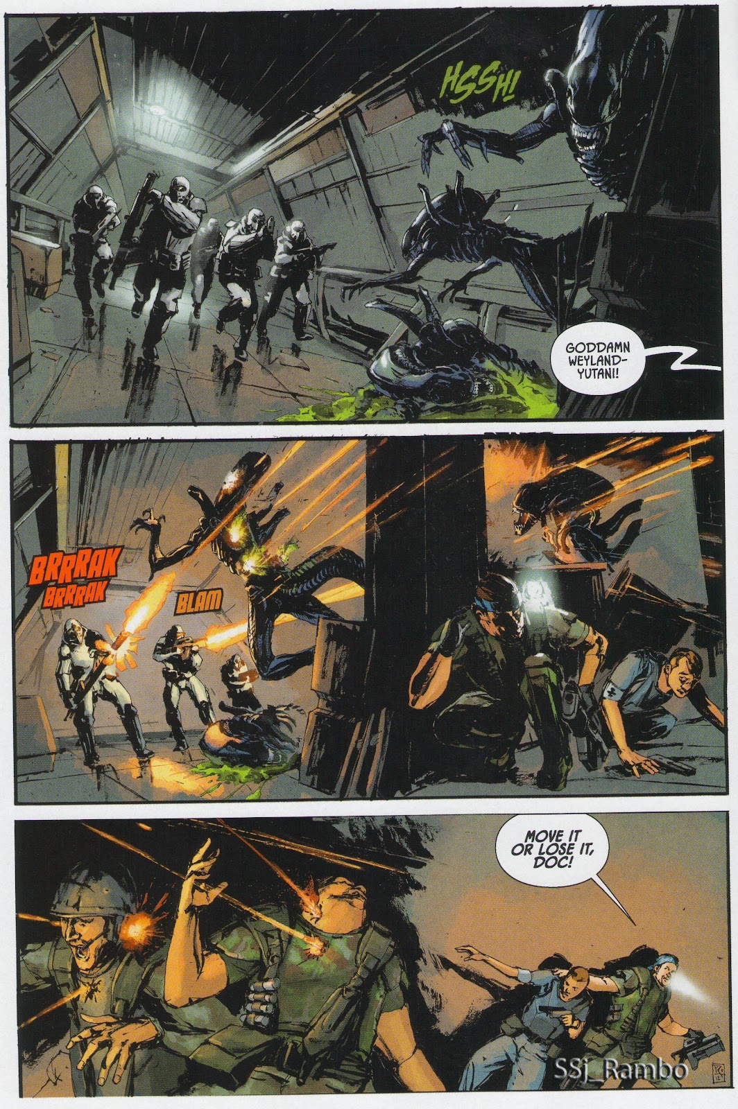 Read online Aliens: Colonial Marines - No Man Left Behind comic -  Issue # Full - 3