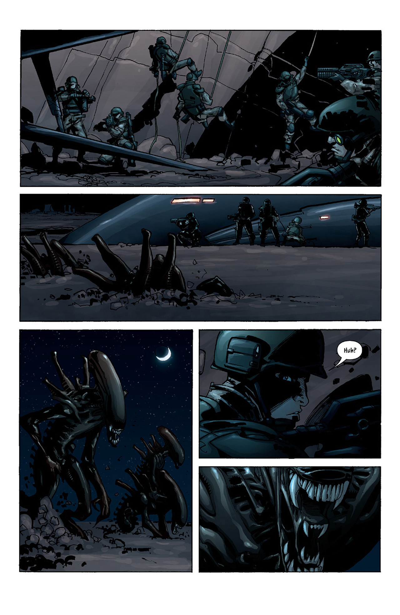 Read online Aliens vs. Predator: Three World War comic -  Issue #2 - 6