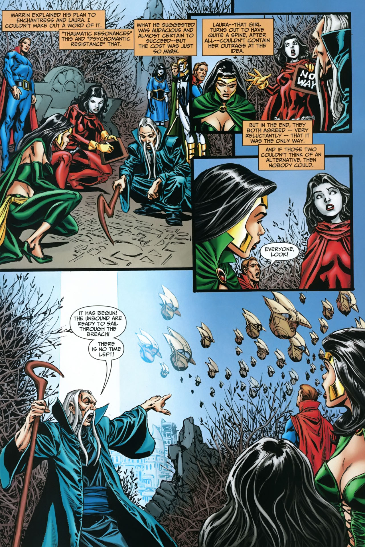 Read online Shadowpact comic -  Issue #22 - 8