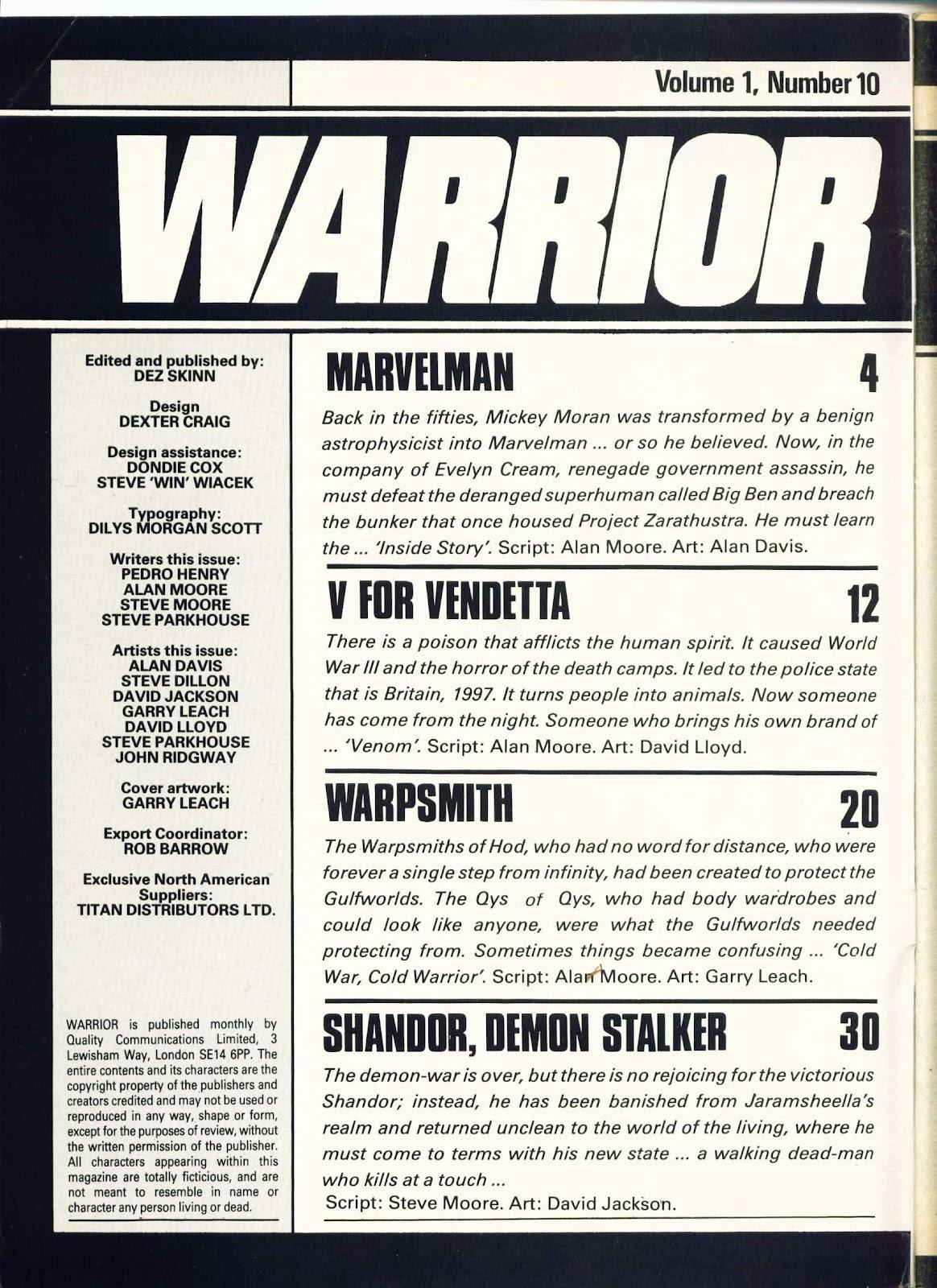 Warrior Issue #10 #11 - English 2