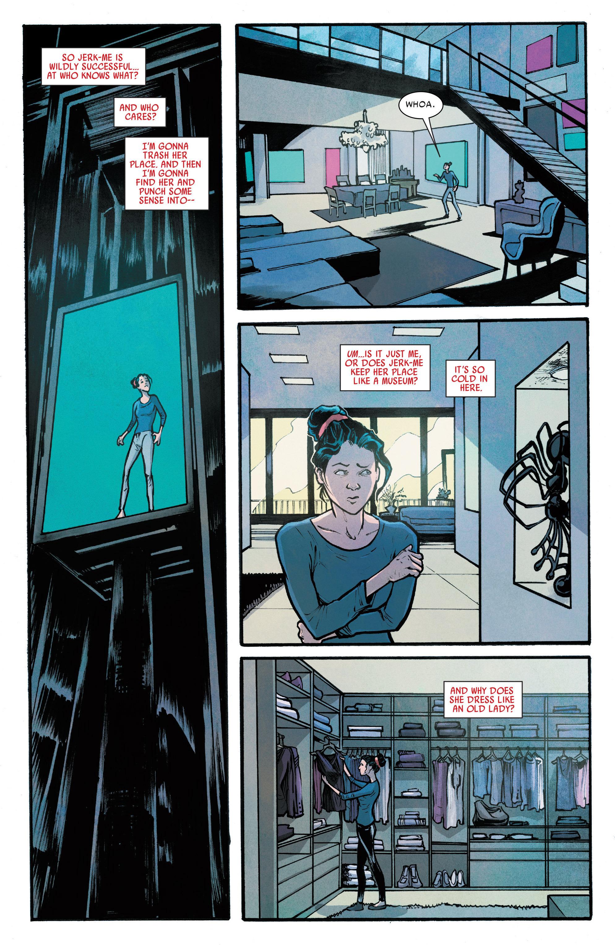 Read online Silk (2016) comic -  Issue #7 - 14
