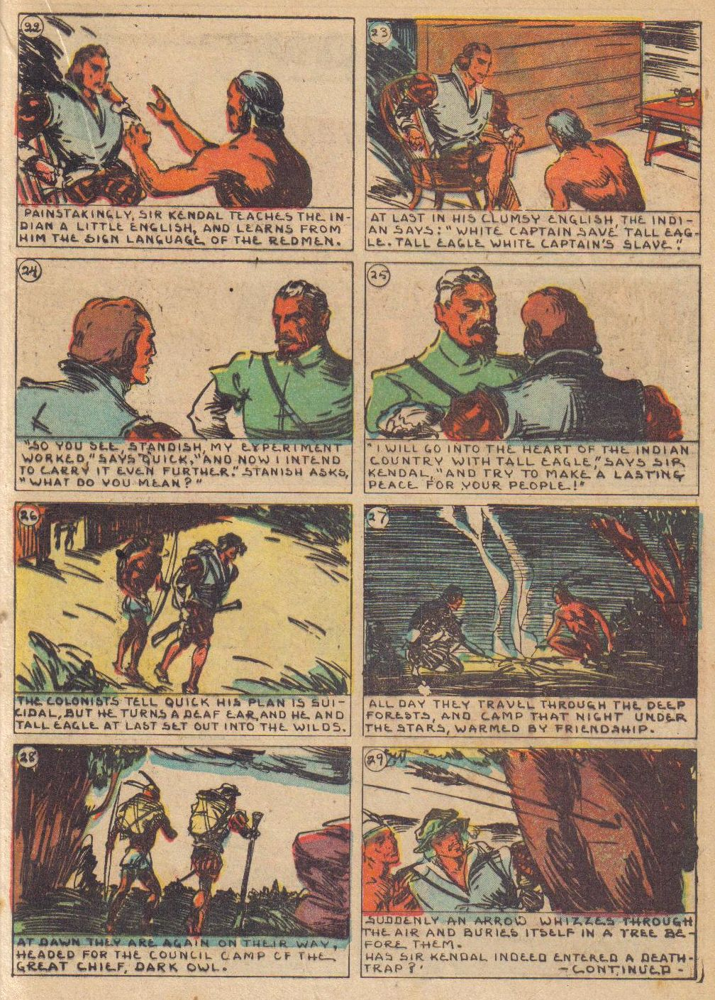 Read online Adventure Comics (1938) comic -  Issue #24 - 33