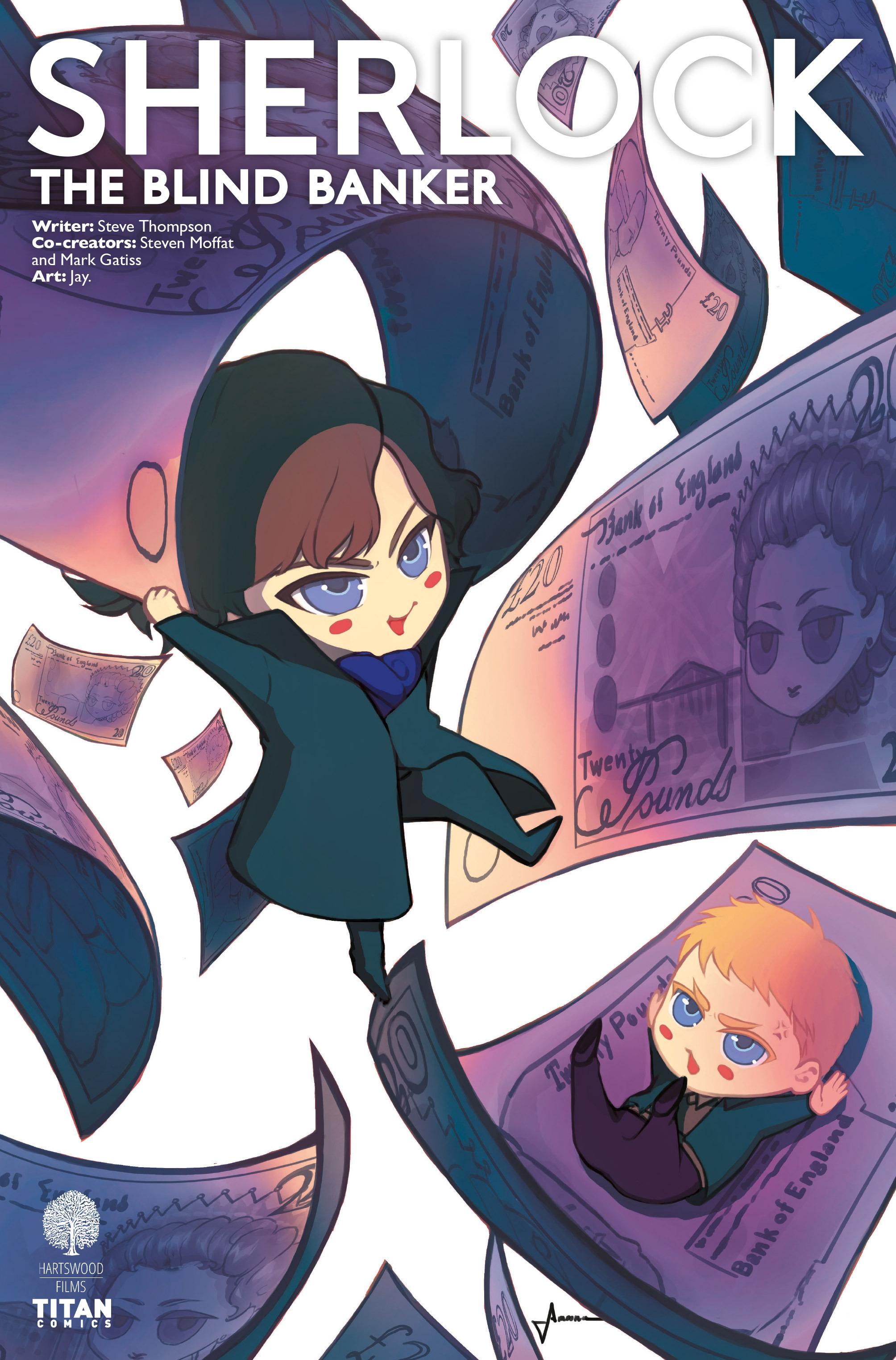 Read online Sherlock: The Blind Banker comic -  Issue #5 - 3