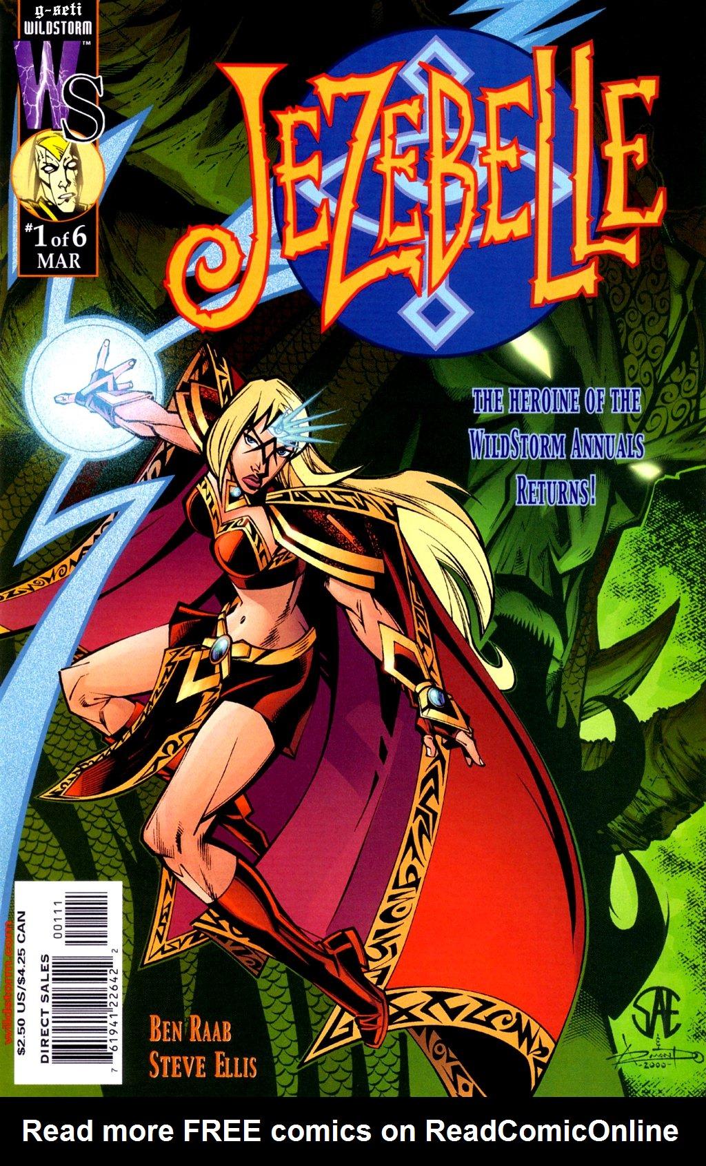 Read online Jezebelle comic -  Issue #1 - 1