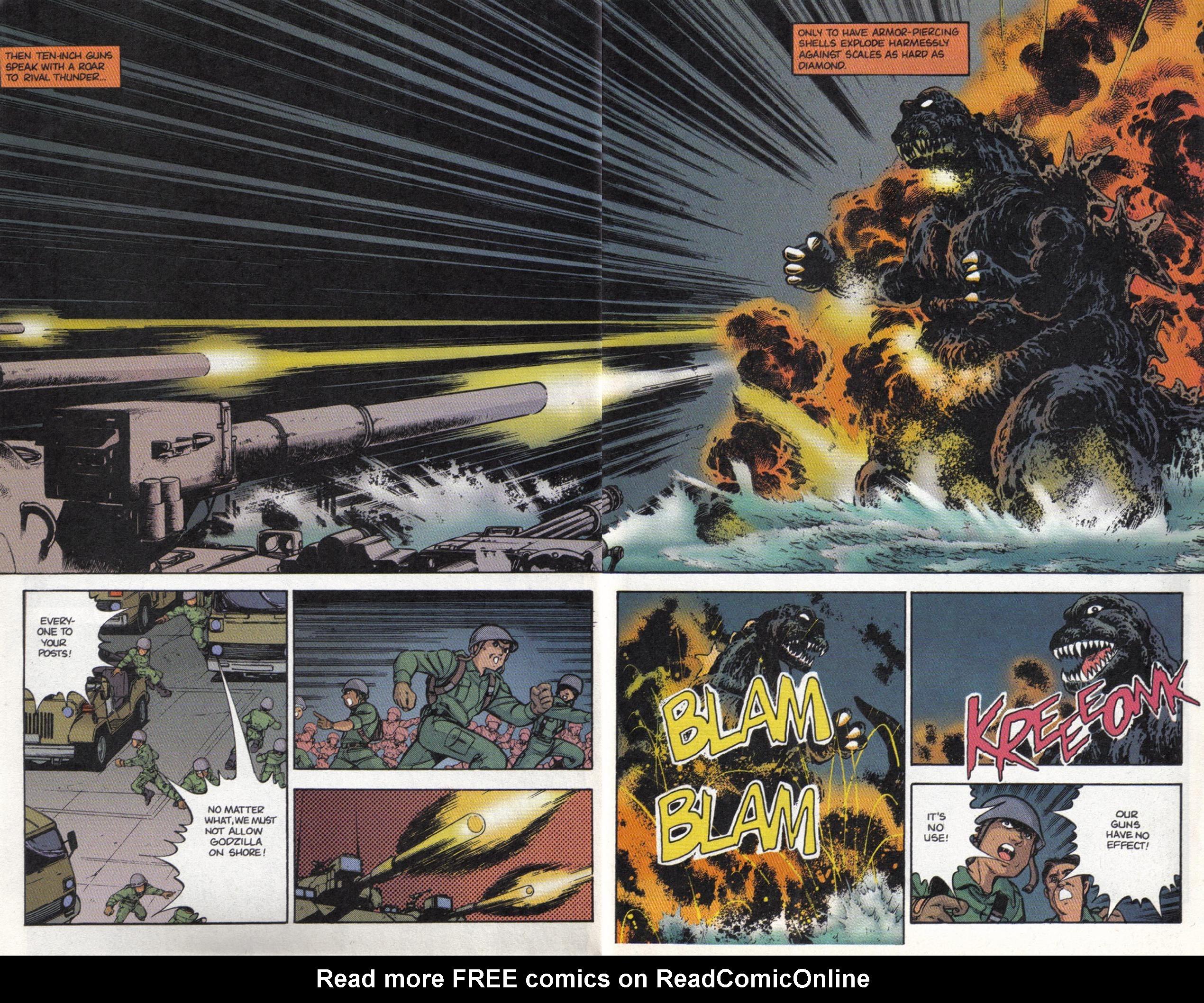Read online Dark Horse Classics: Terror of Godzilla comic -  Issue #3 - 19