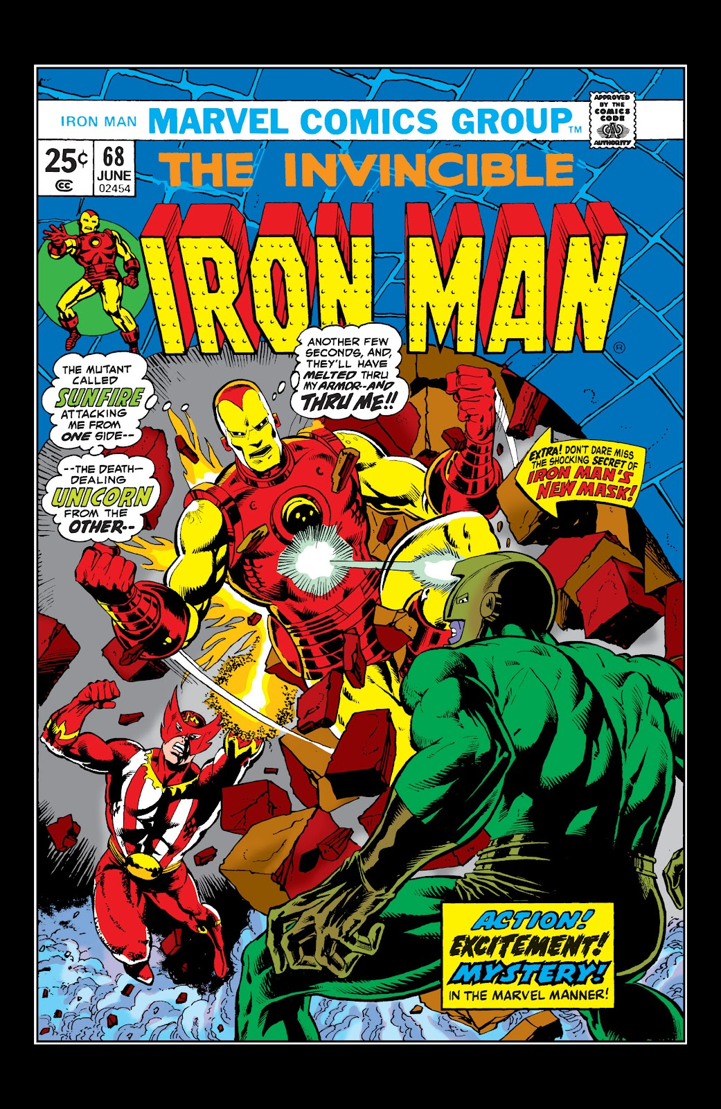Read online Marvel Masterworks: The Invincible Iron Man comic -  Issue # TPB 10 (Part 1) - 7