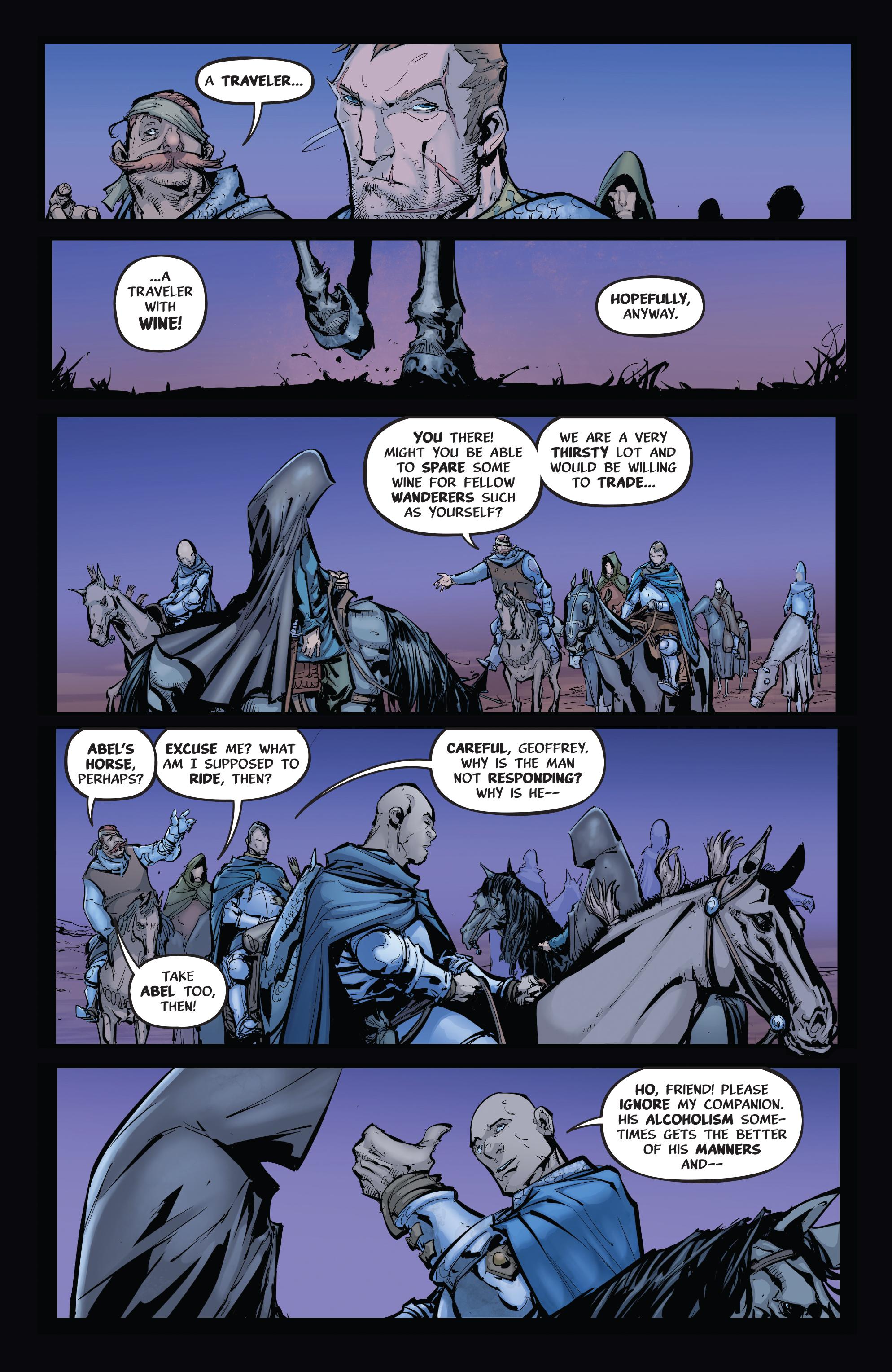 Read online Pestilence comic -  Issue #1 - 17