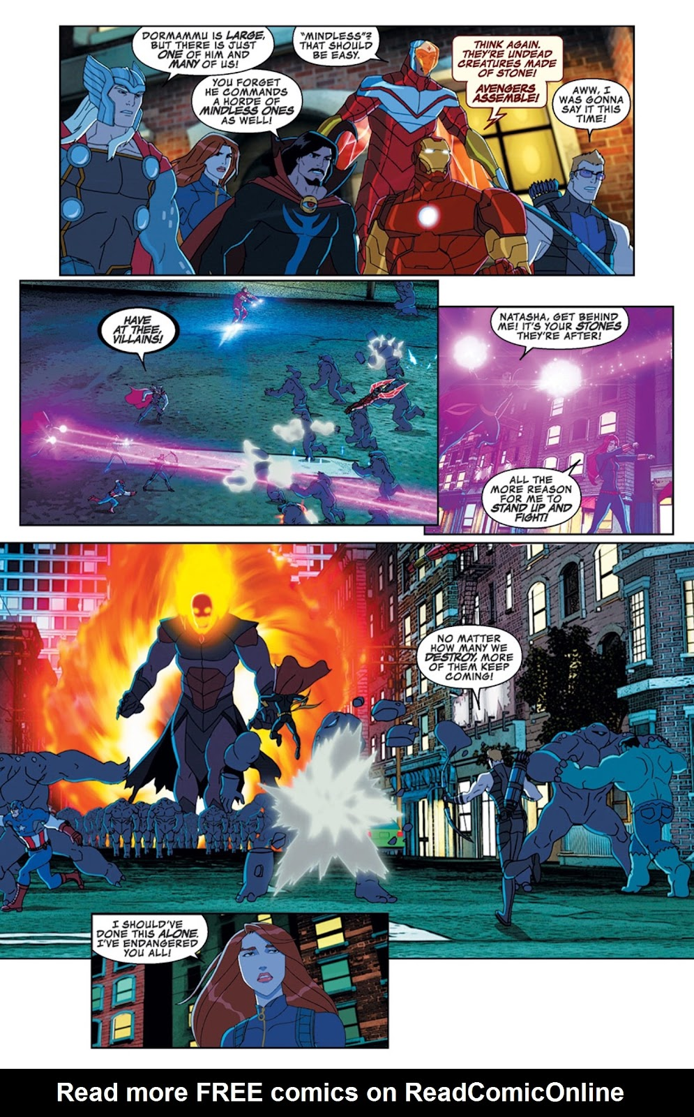Read online Marvel Universe Avengers Assemble Season 2 comic -  Issue #11 - 22