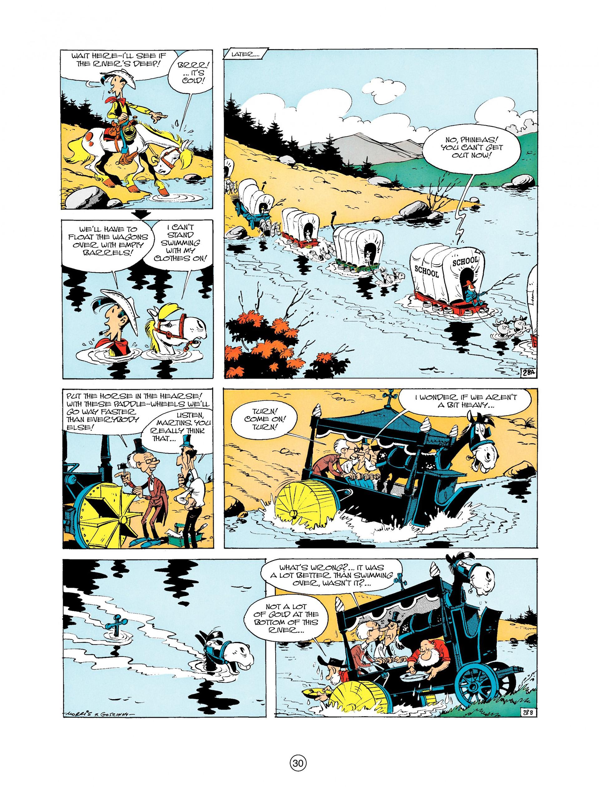 Read online A Lucky Luke Adventure comic -  Issue #9 - 30