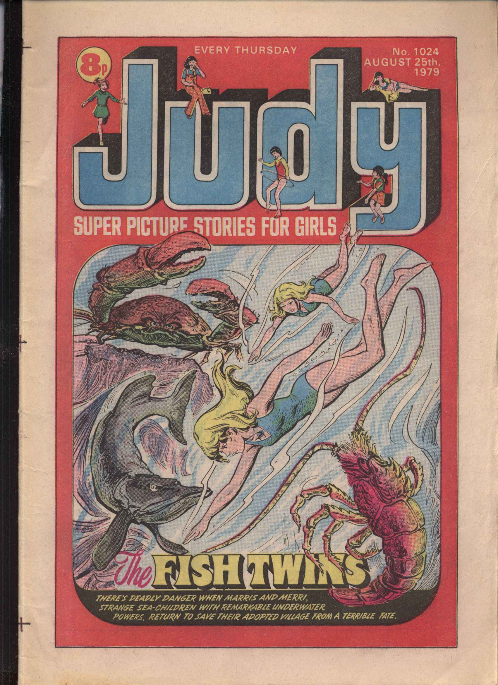 Read online Judy comic -  Issue #24 - 1