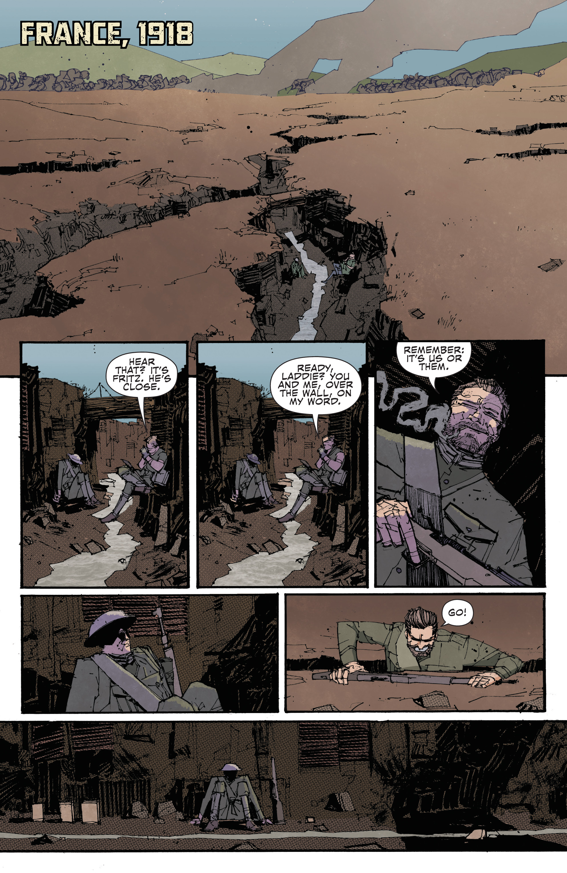 Read online John Carter: The End comic -  Issue #4 - 4