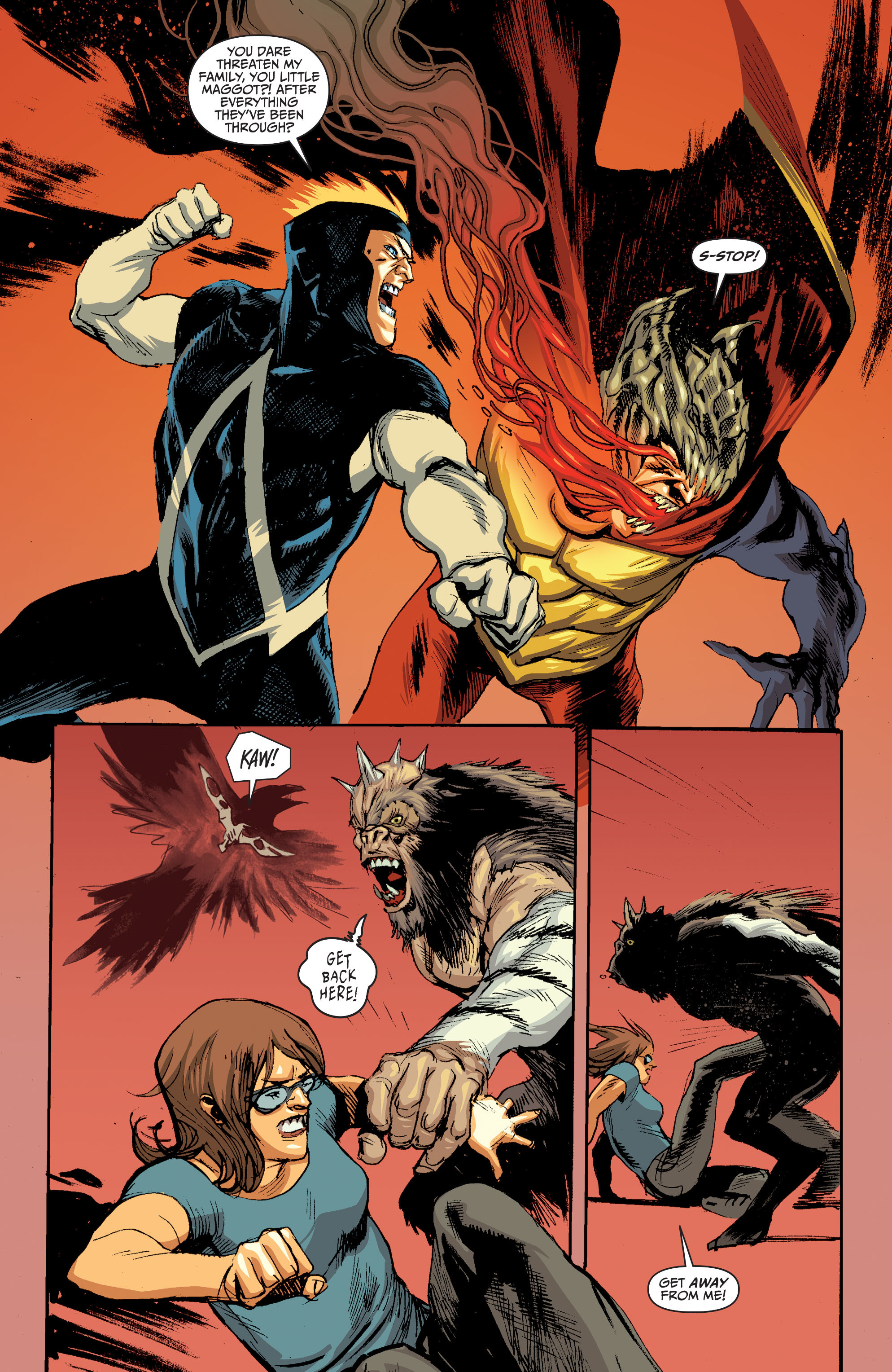 Read online Animal Man (2011) comic -  Issue #28 - 15
