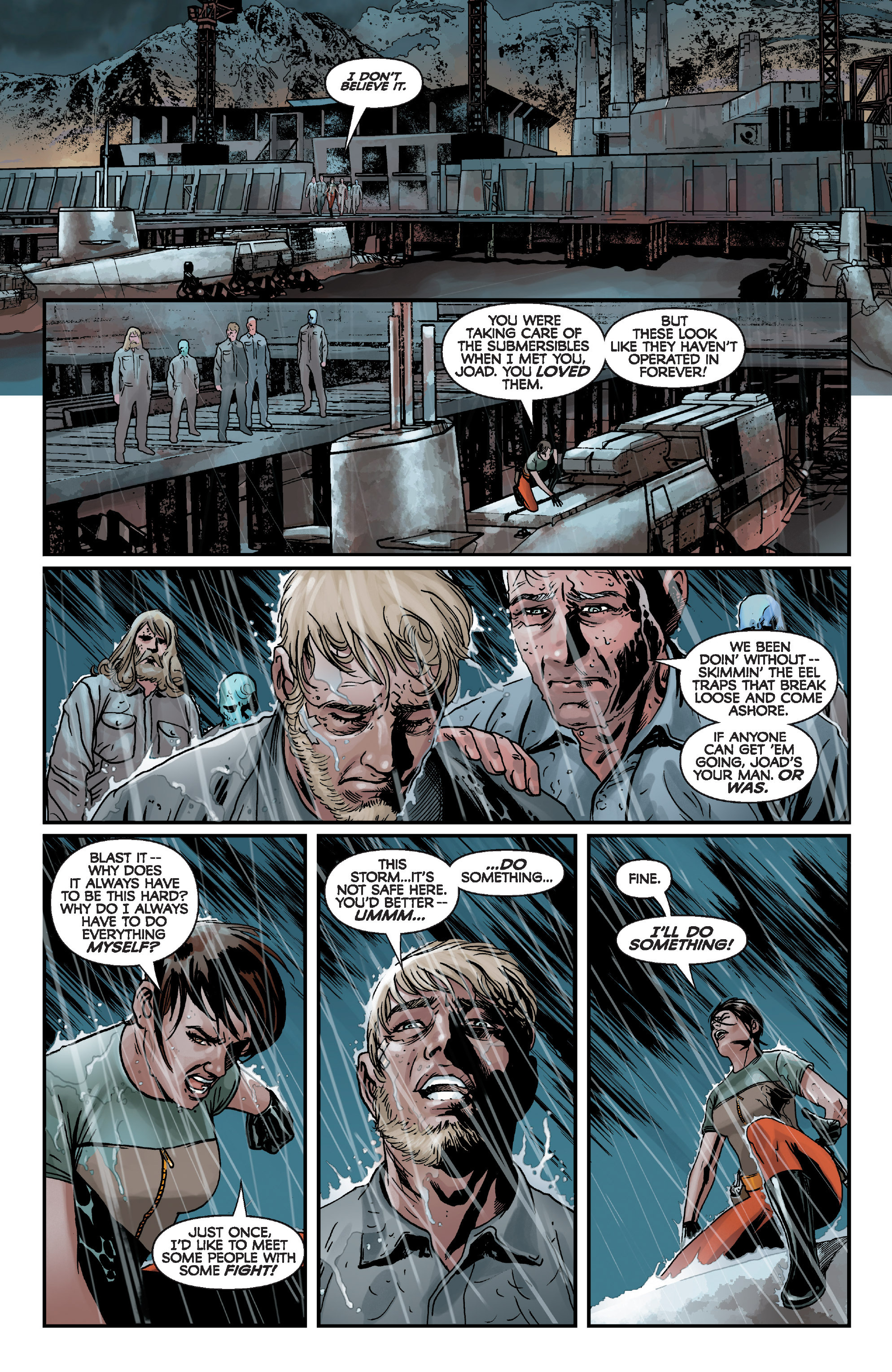 Read online Star Wars: Knight Errant - Deluge comic -  Issue #1 - 15