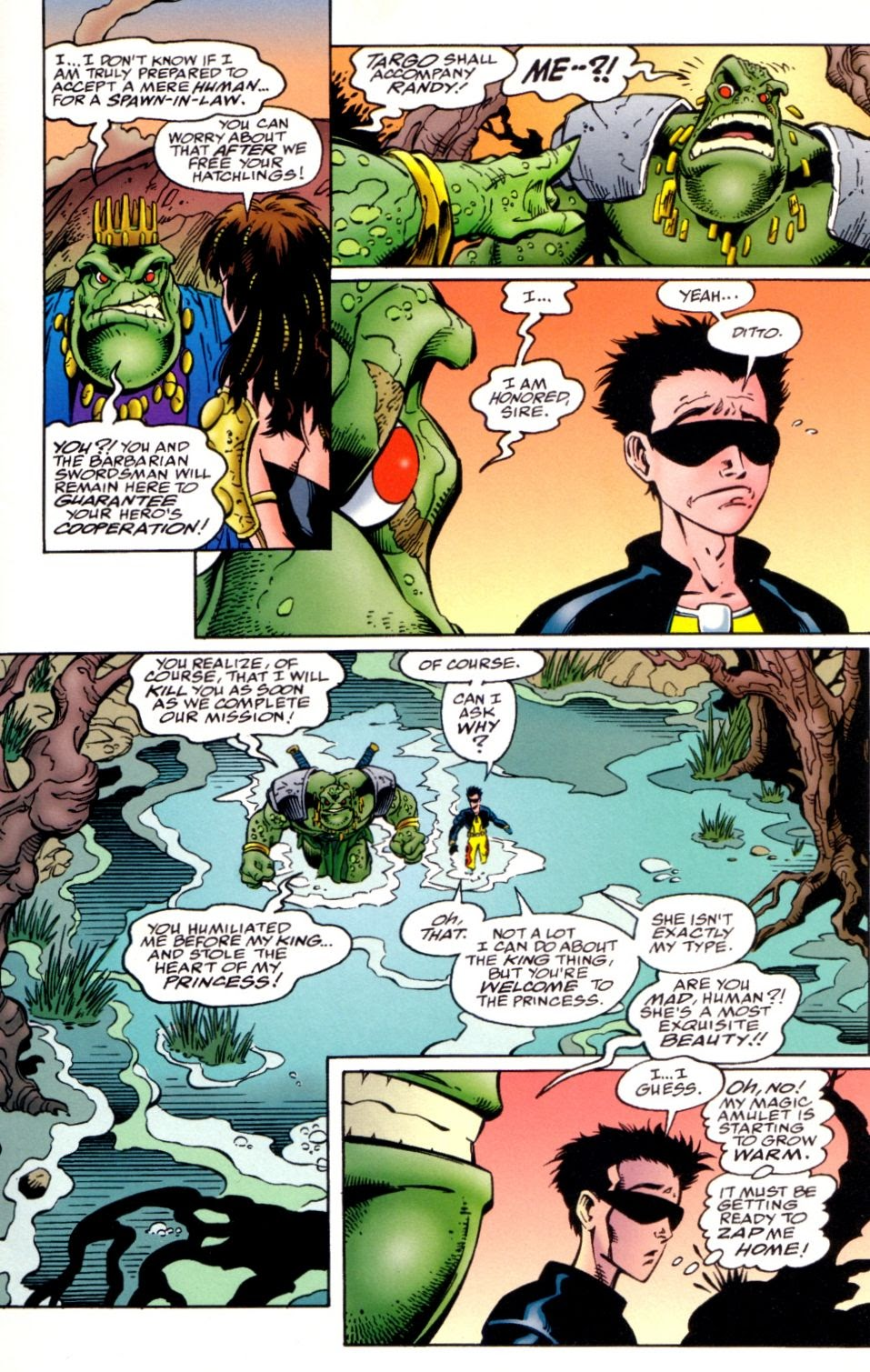 Read online Randy O'Donnell is The M@N comic -  Issue #3 - 15