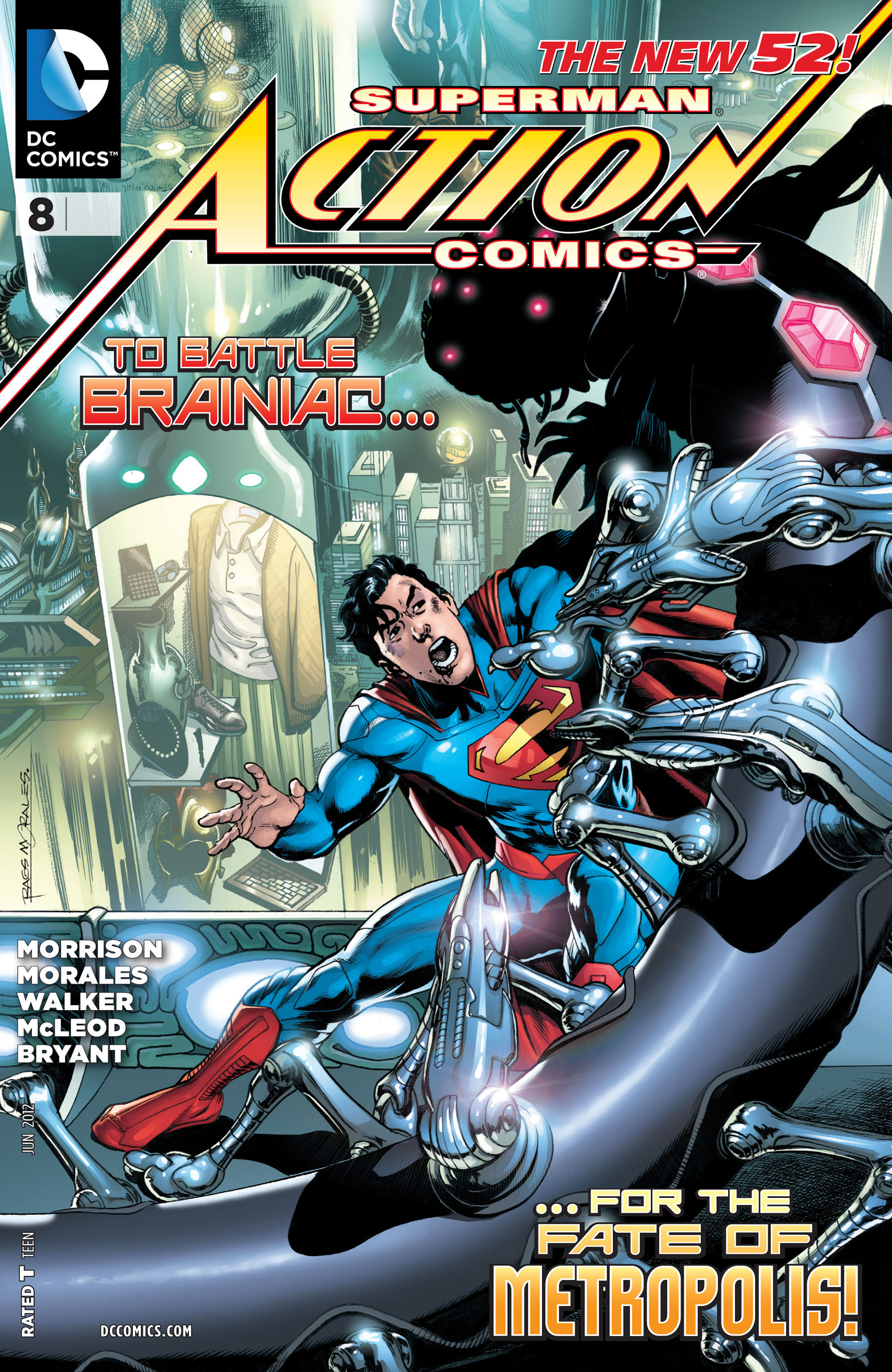 Read online Action Comics (2011) comic -  Issue #8 - 1