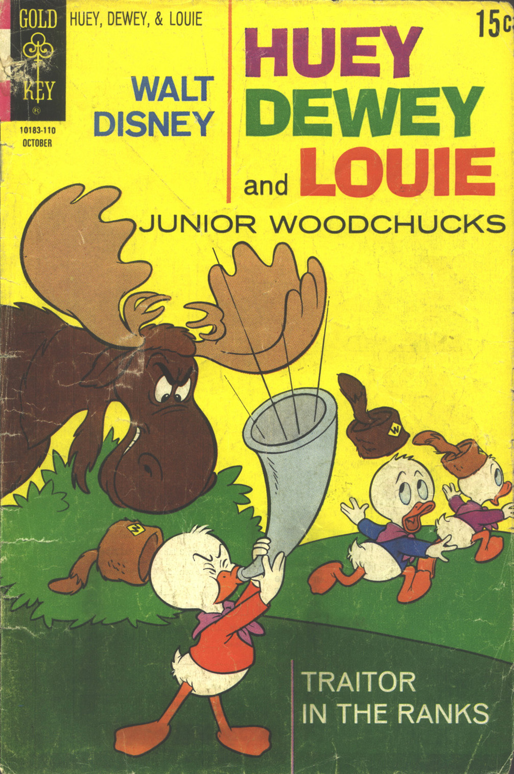 Huey, Dewey, and Louie Junior Woodchucks 11 Page 1