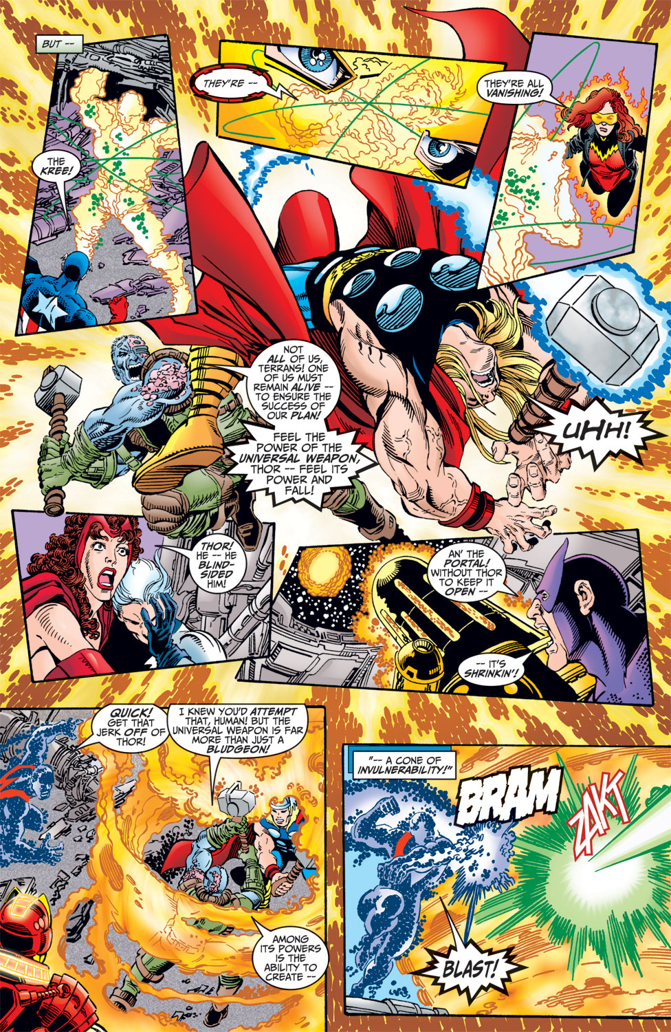 Read online Avengers (1998) comic -  Issue #7 - 18