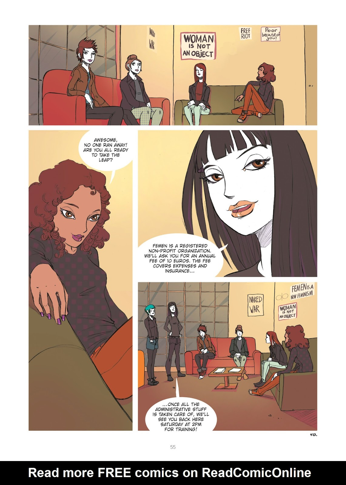 Read online Diary of A Femen comic -  Issue # TPB - 57