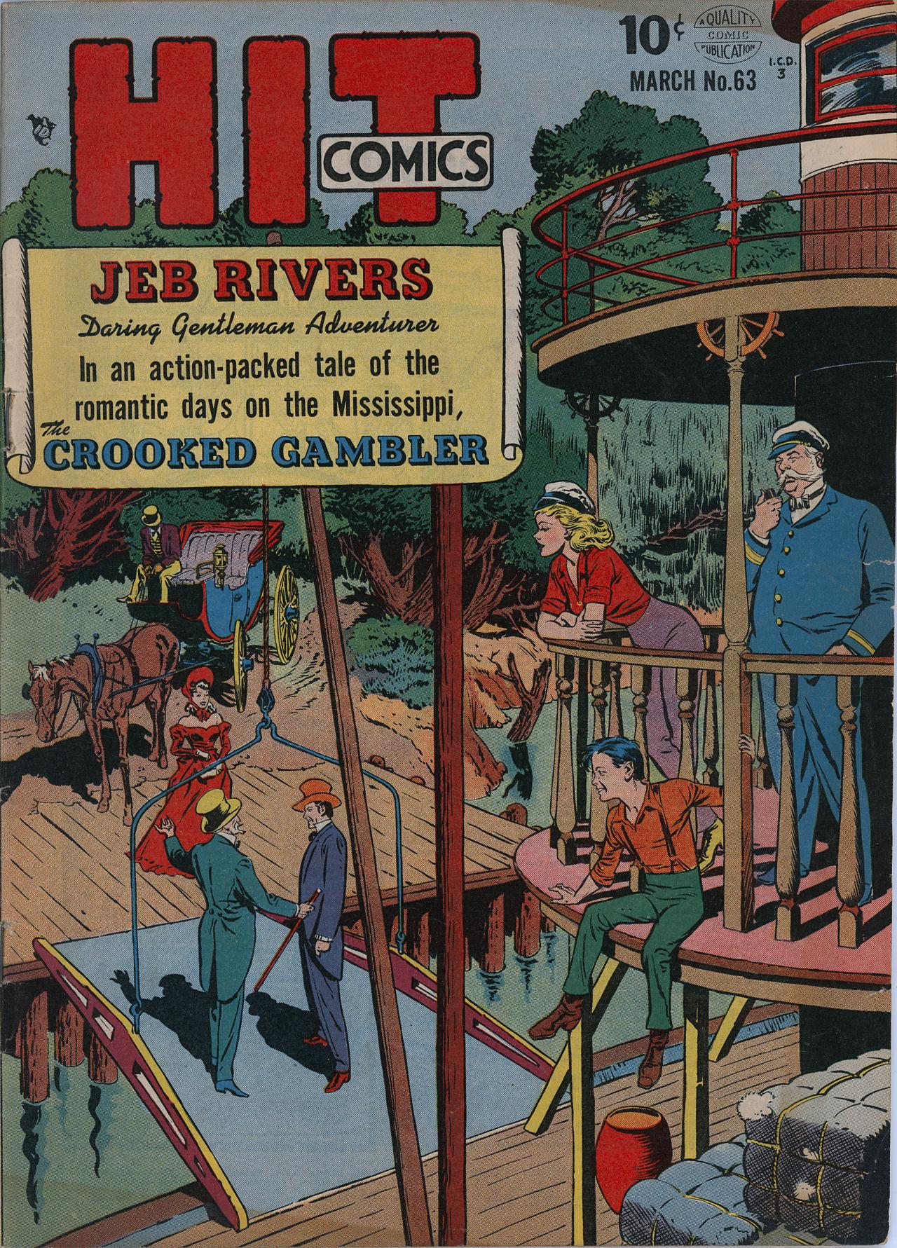 Read online Hit Comics comic -  Issue #63 - 1