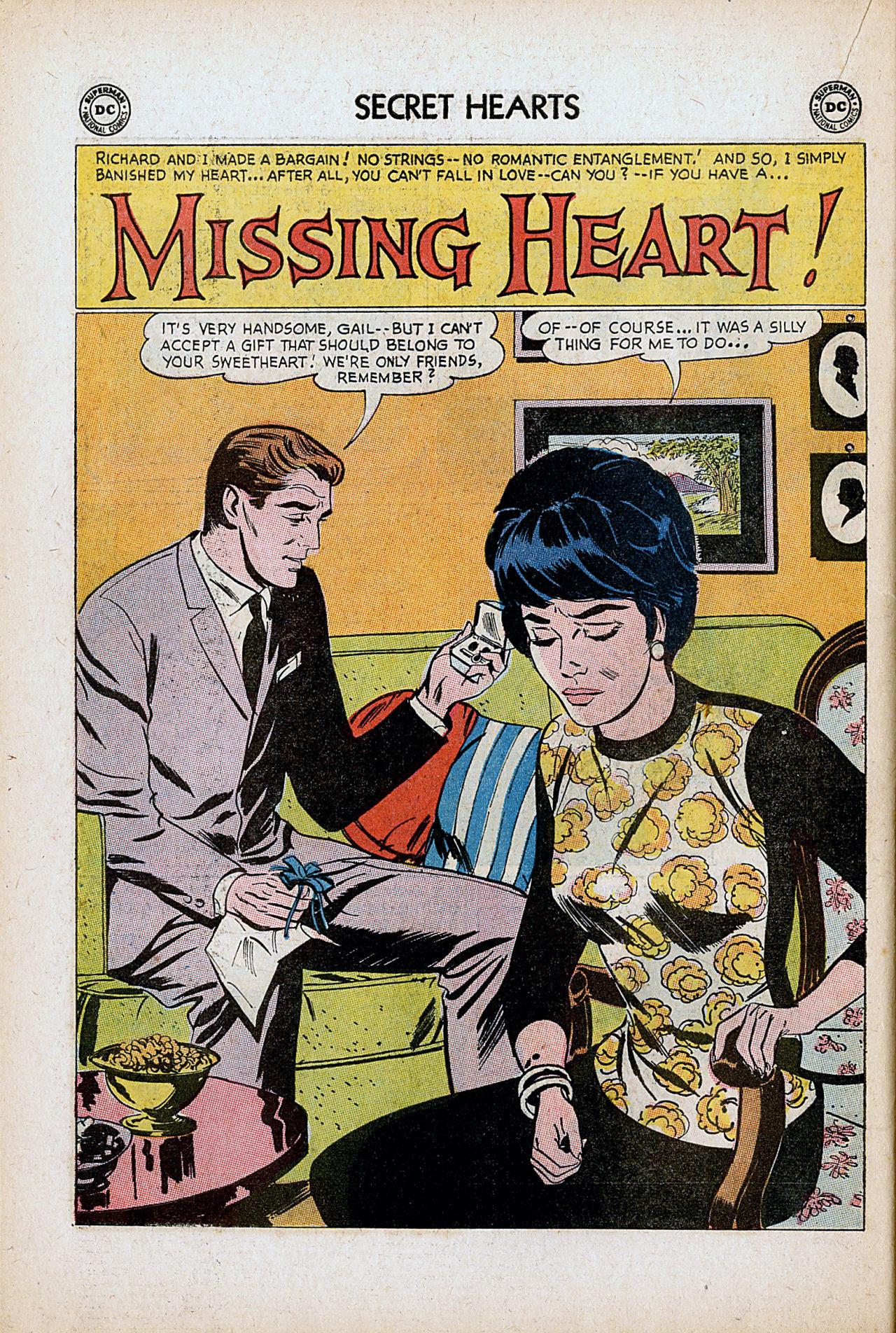 Read online Secret Hearts comic -  Issue #86 - 18