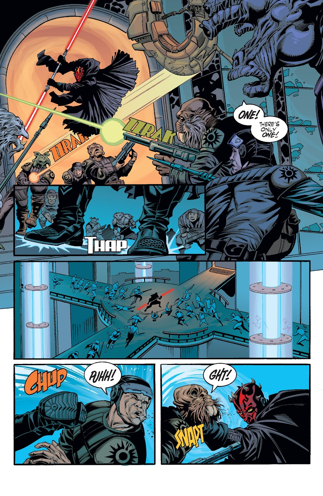 Read online Star Wars Legends: Rise of the Sith - Epic Collection comic -  Issue # TPB 2 (Part 3) - 1