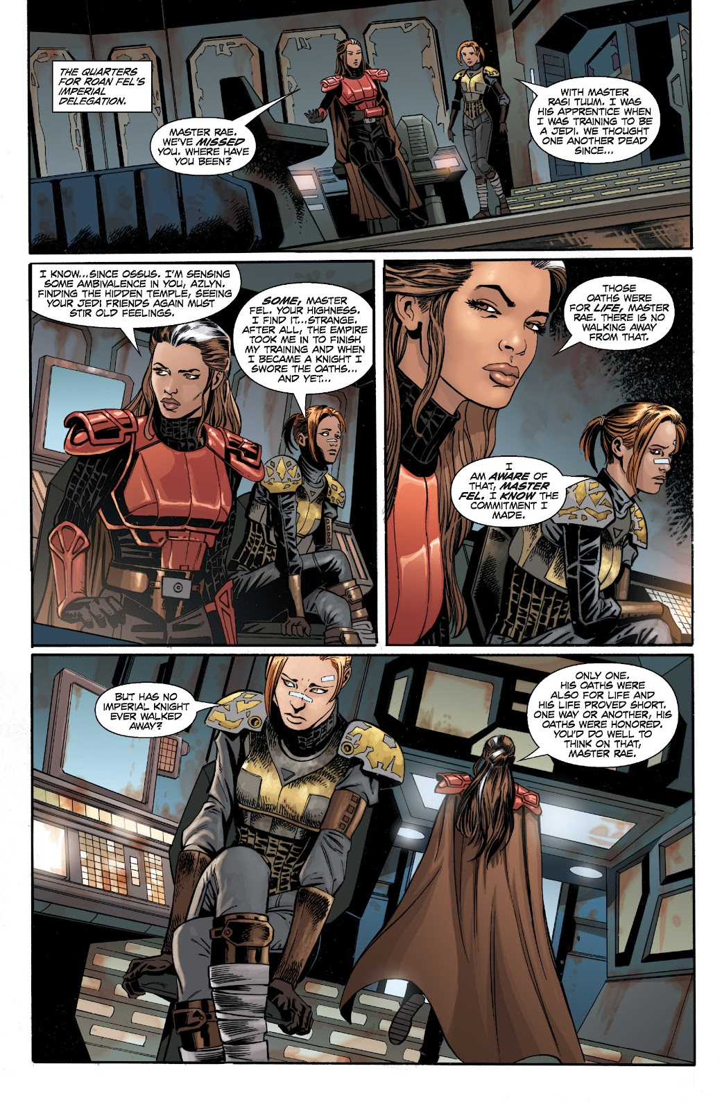 Read online Star Wars Legends: Legacy - Epic Collection comic -  Issue # TPB 2 (Part 2) - 87