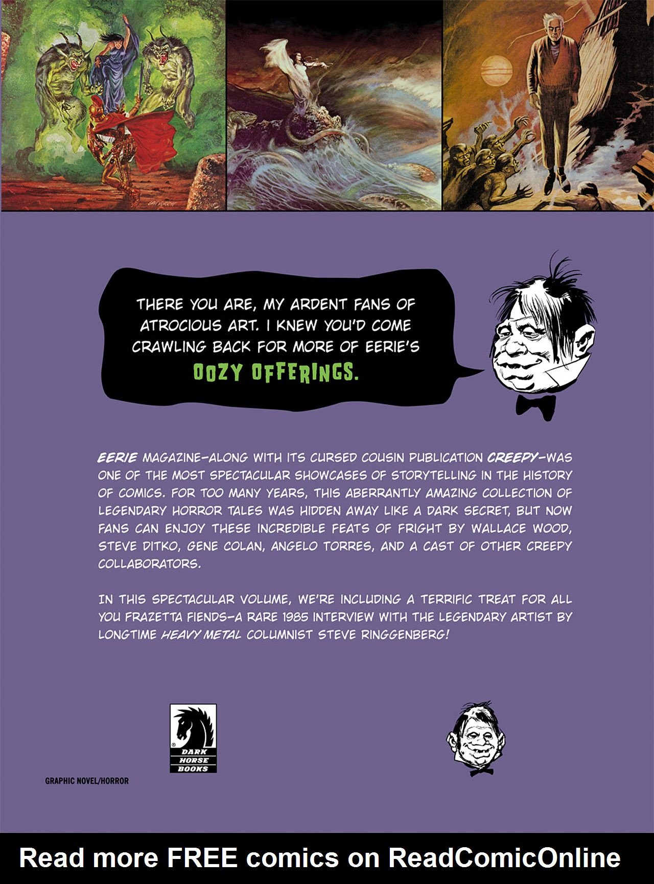 Read online Eerie Archives comic -  Issue # TPB 2 - 290