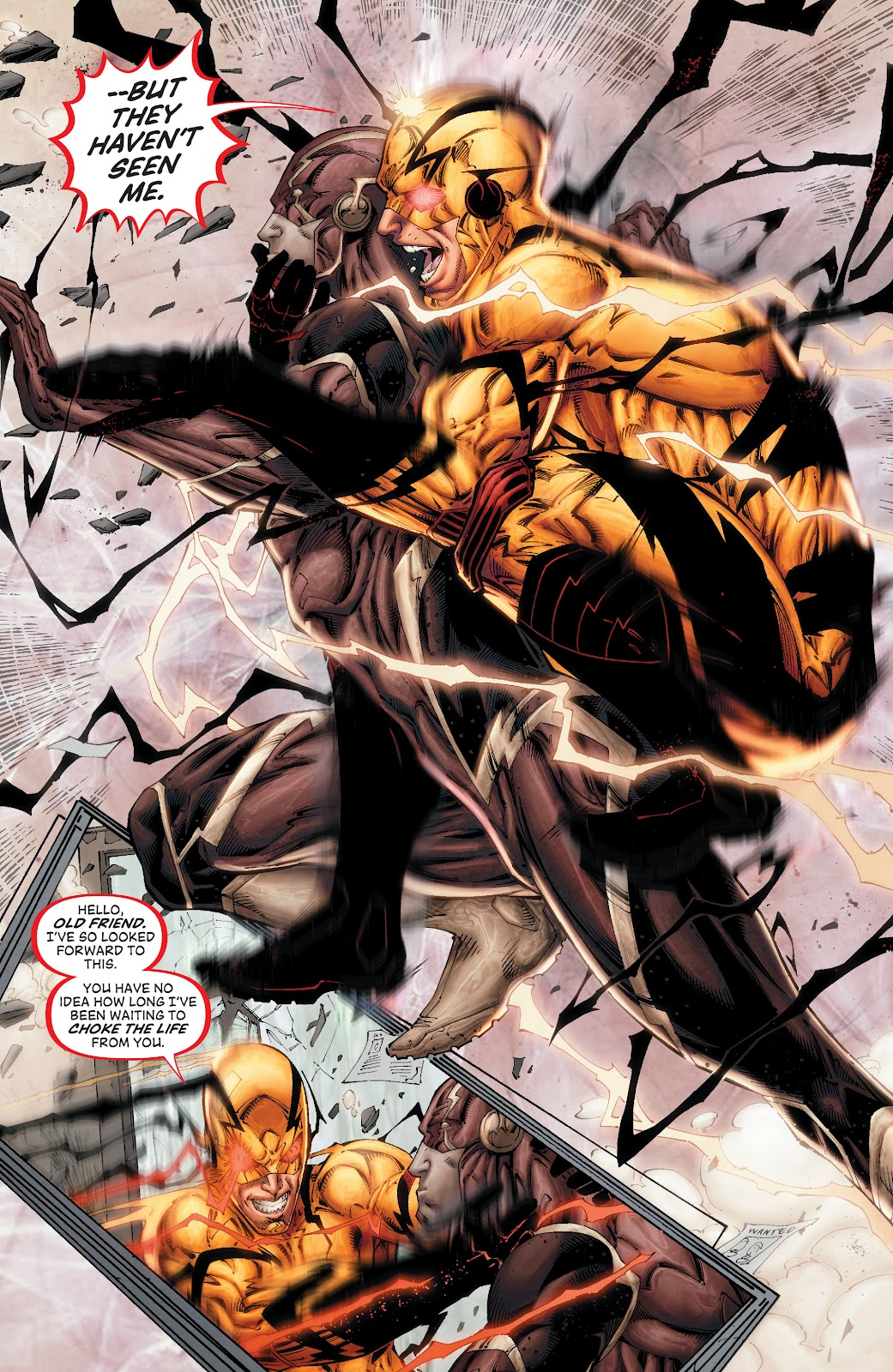 Read online The Flash (2011) comic -  Issue # _TPB 8 (Part 1) - 8