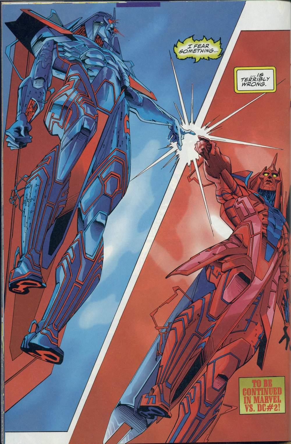 Read online DC Versus Marvel Comics comic -  Issue #1 - 34