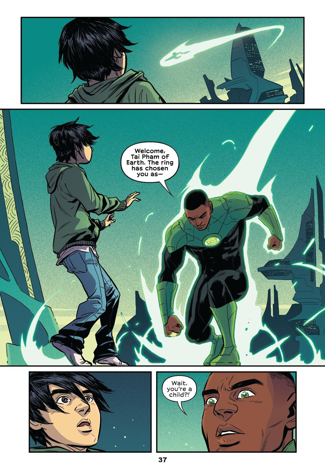 Read online Green Lantern: Legacy comic -  Issue # TPB - 35