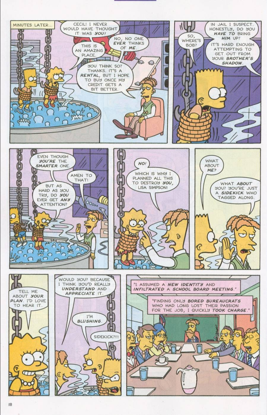 Read online Simpsons Comics comic -  Issue #71 - 19