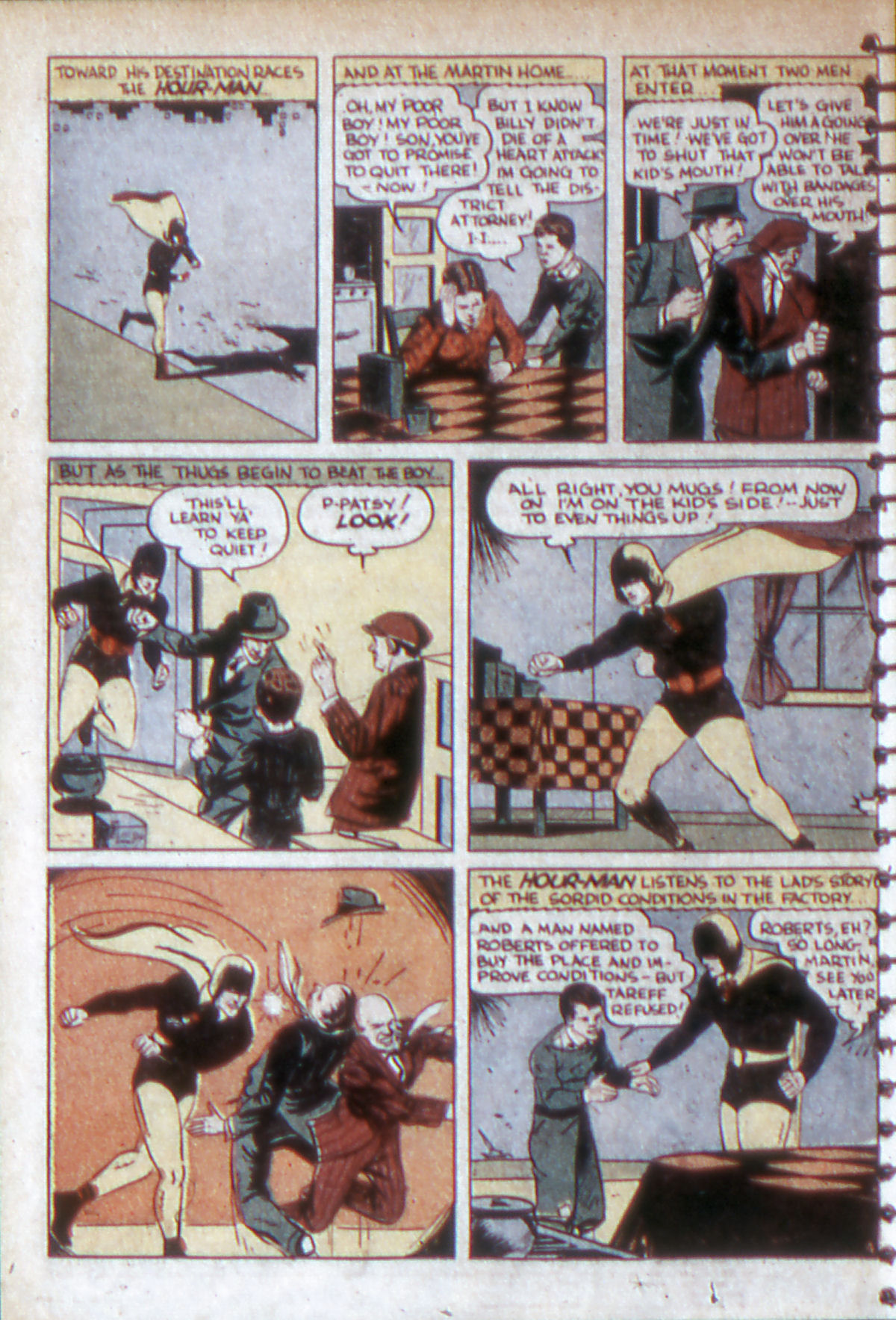 Read online Adventure Comics (1938) comic -  Issue #53 - 7