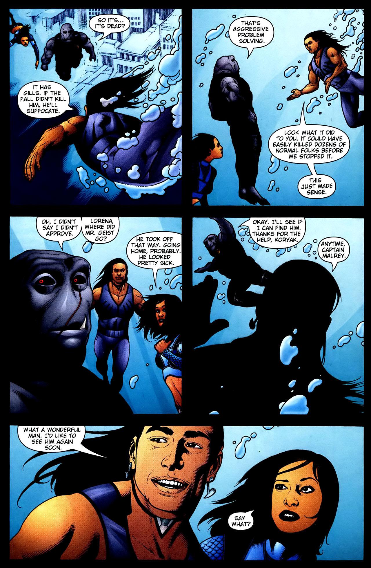 Read online Aquaman (2003) comic -  Issue #34 - 21