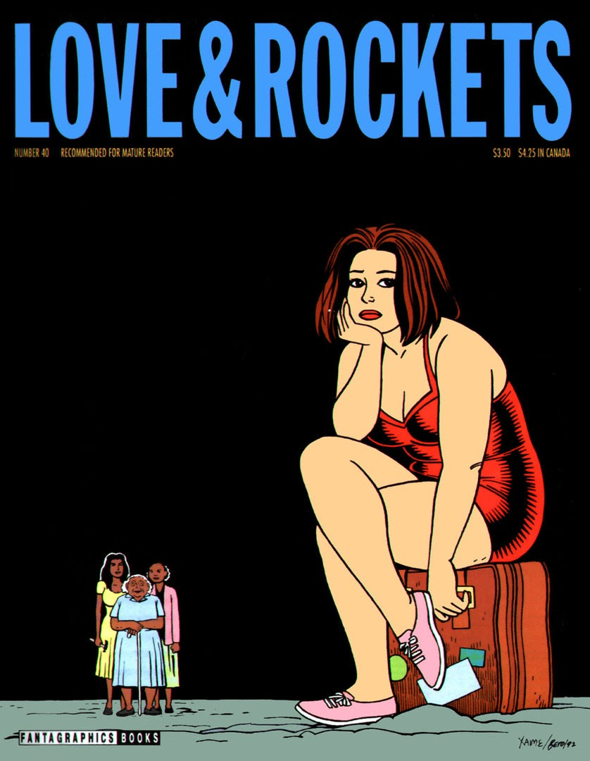 Love and Rockets (1982) issue 40 - Page 1