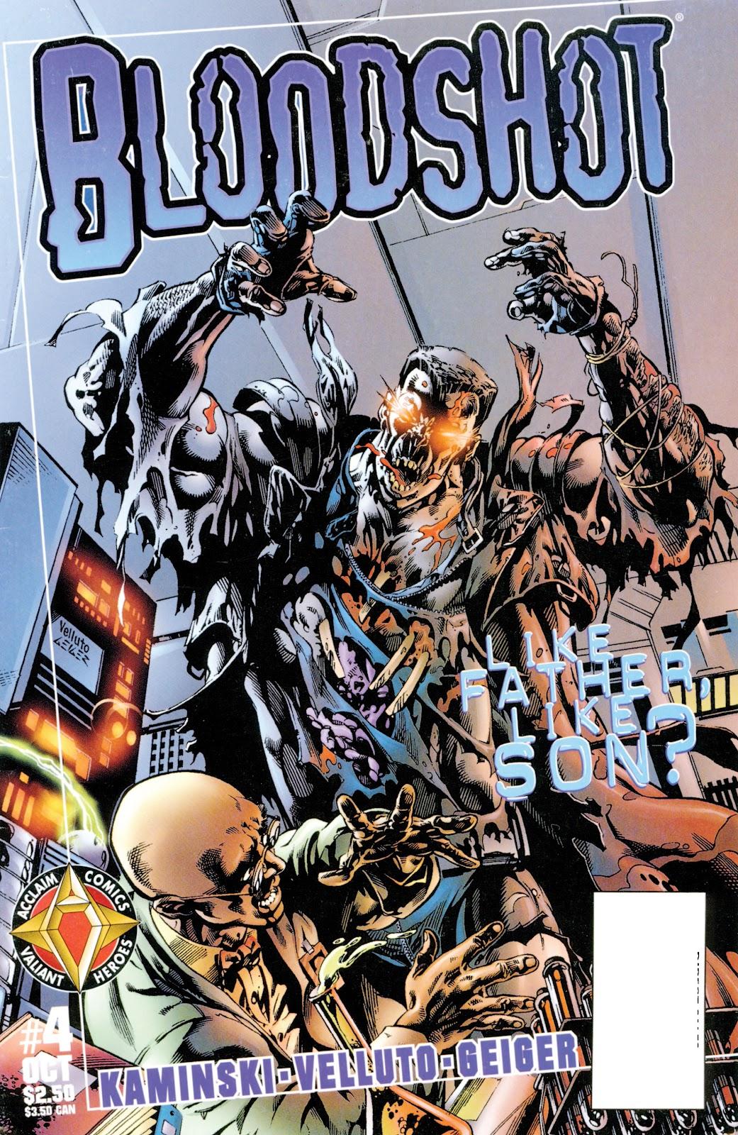 Bloodshot (1997) issue 4 - Page 1