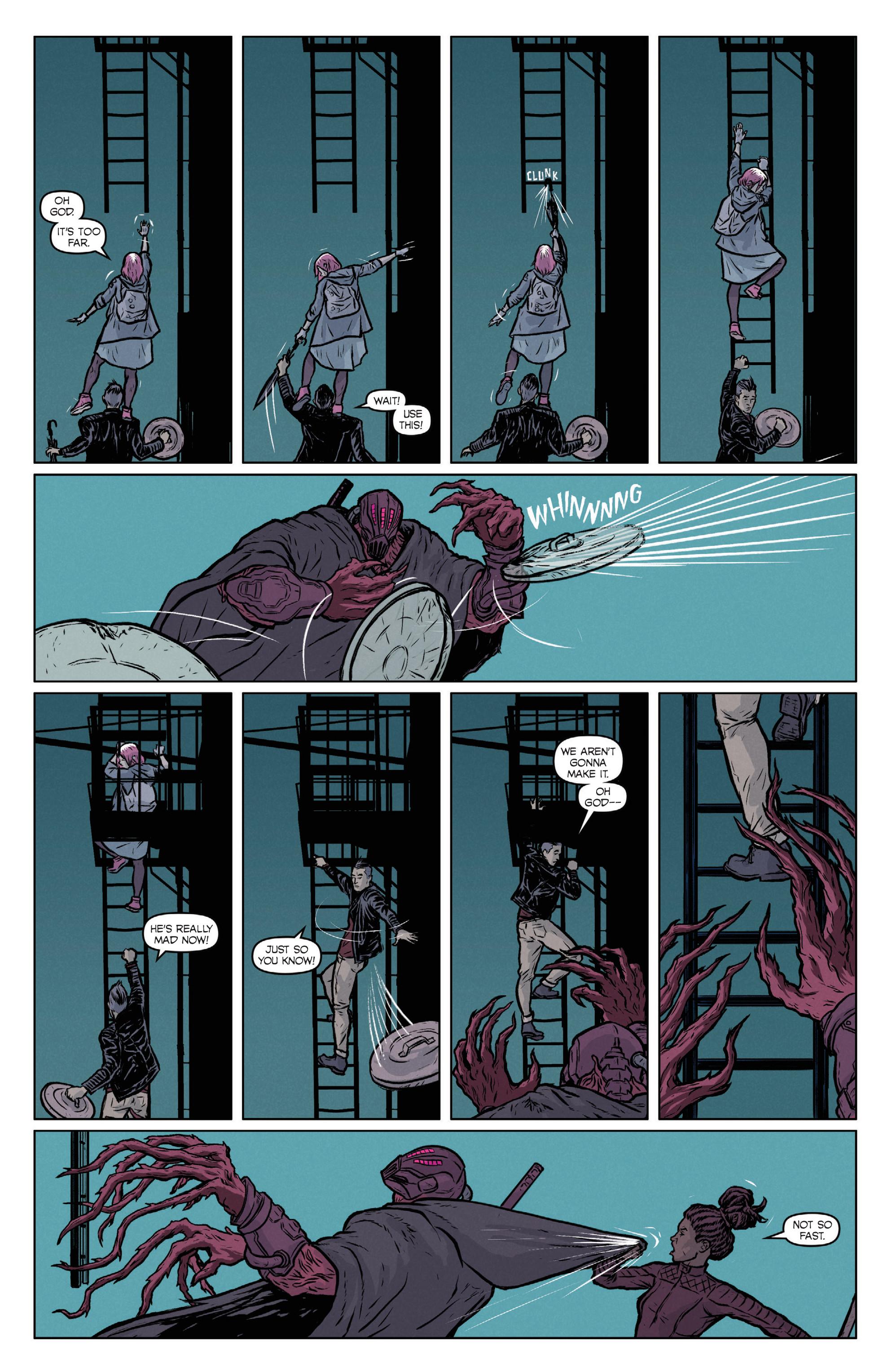 Read online Ninjak (2015) comic -  Issue #27 - 30