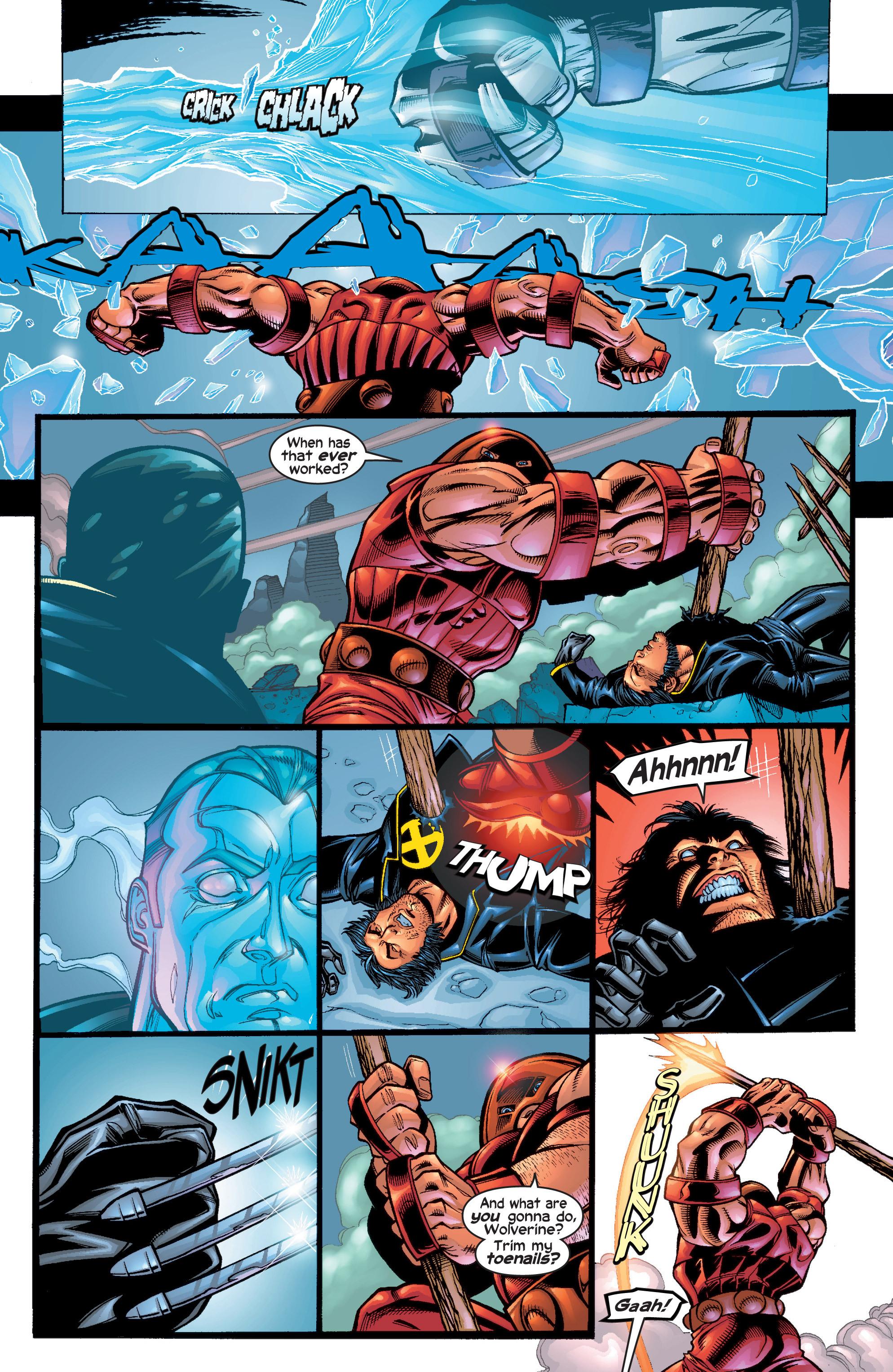 Read online Uncanny X-Men (1963) comic -  Issue #411 - 4