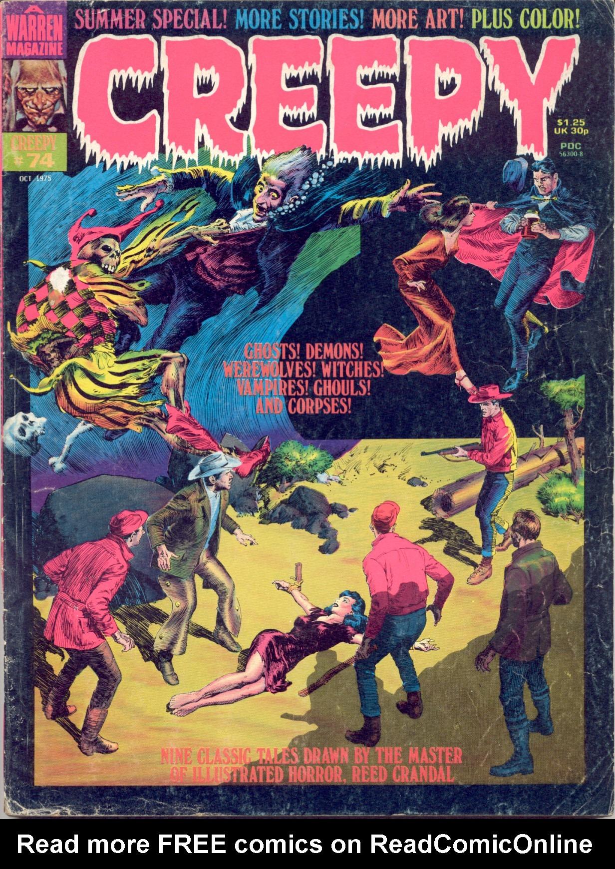 Creepy (1964) 74 Page 1