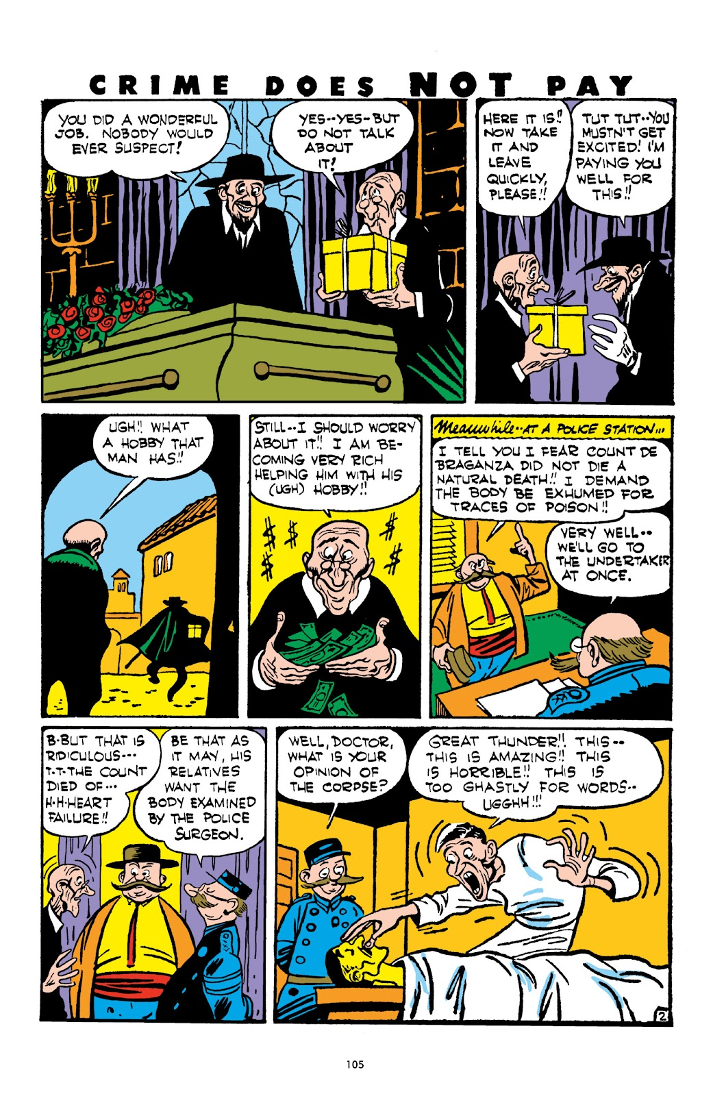 Read online Crime Does Not Pay Archives comic -  Issue # TPB 3 (Part 2) - 5