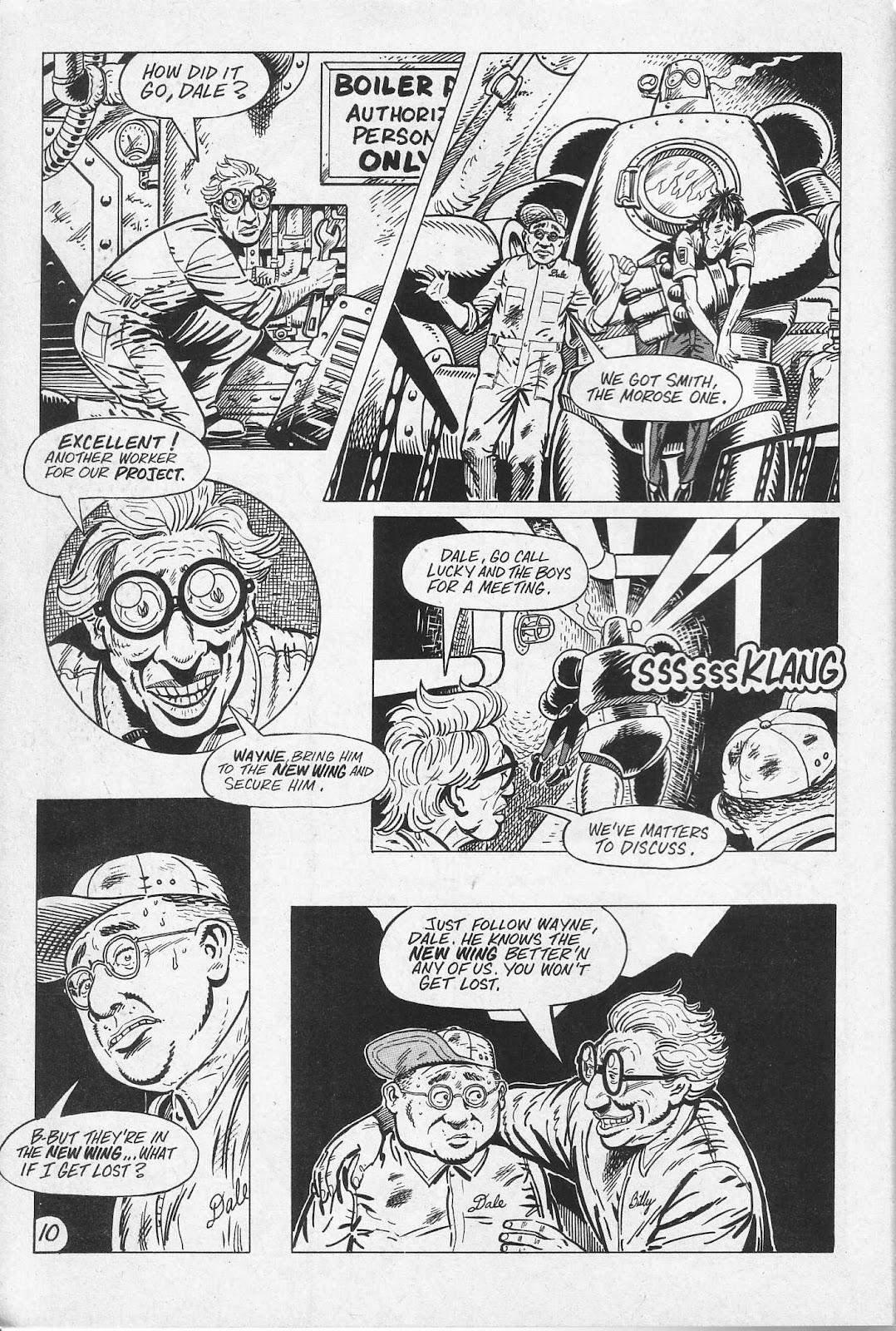 Read online Paul the Samurai (1991) comic -  Issue # TPB - 16