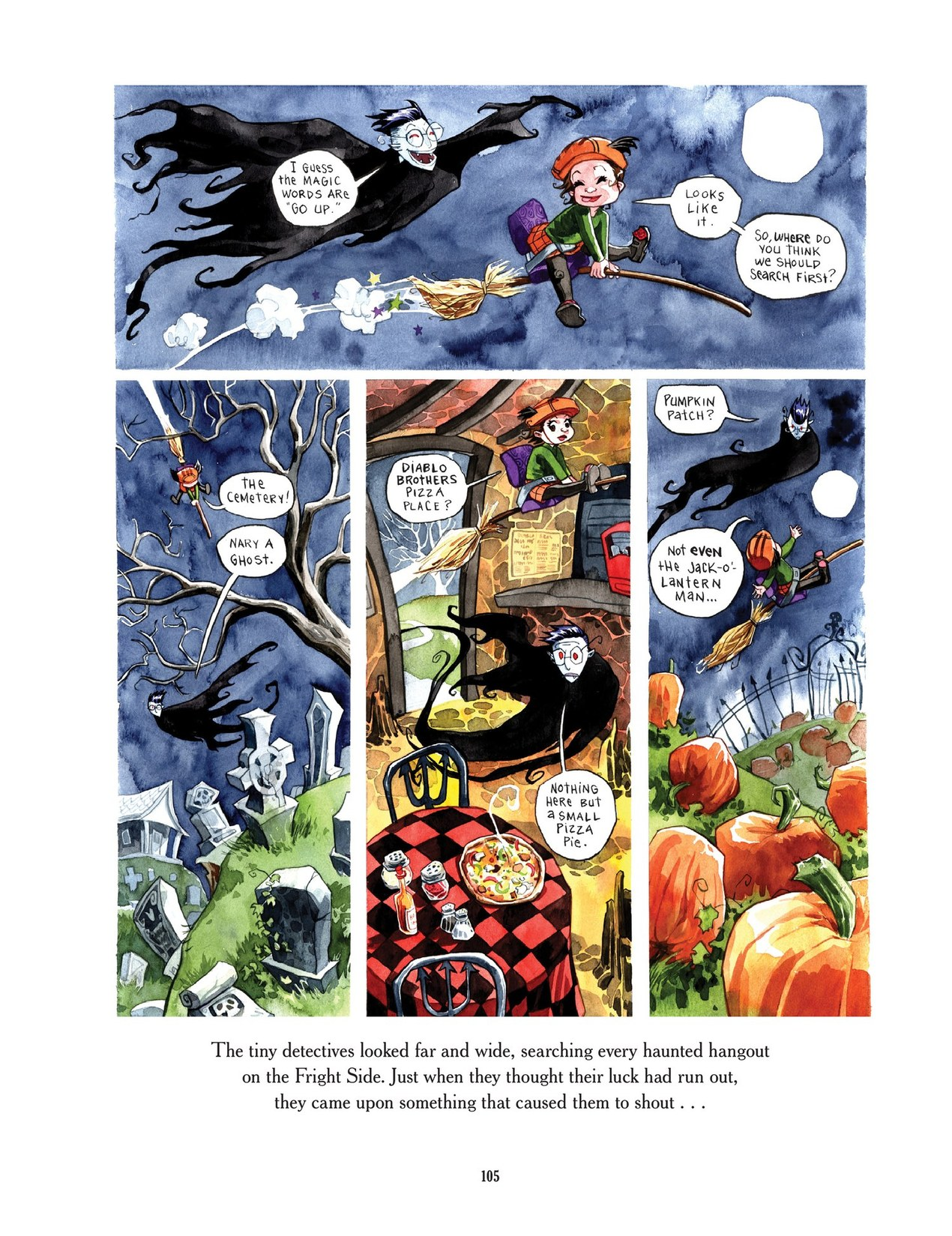 Read online Scary Godmother comic -  Issue # TPB - 105