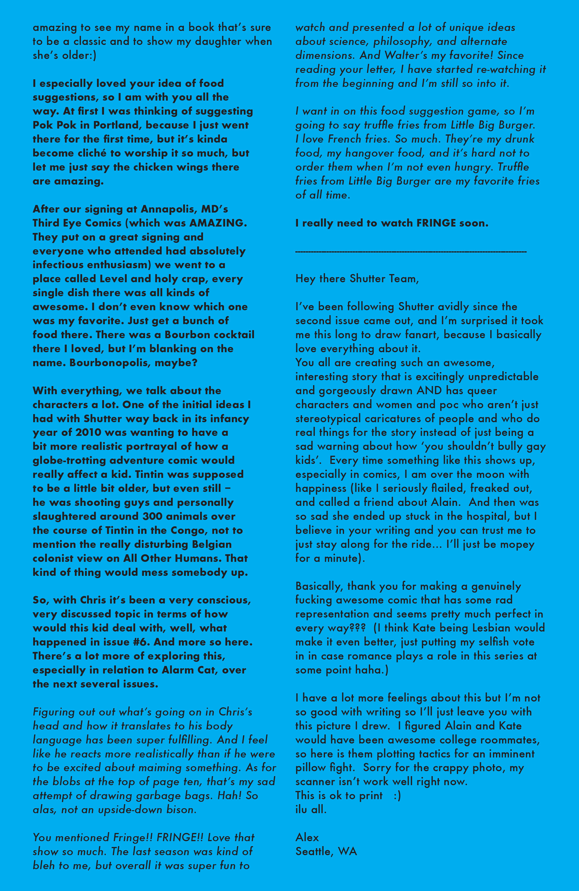 Read online Shutter comic -  Issue #10 - 22