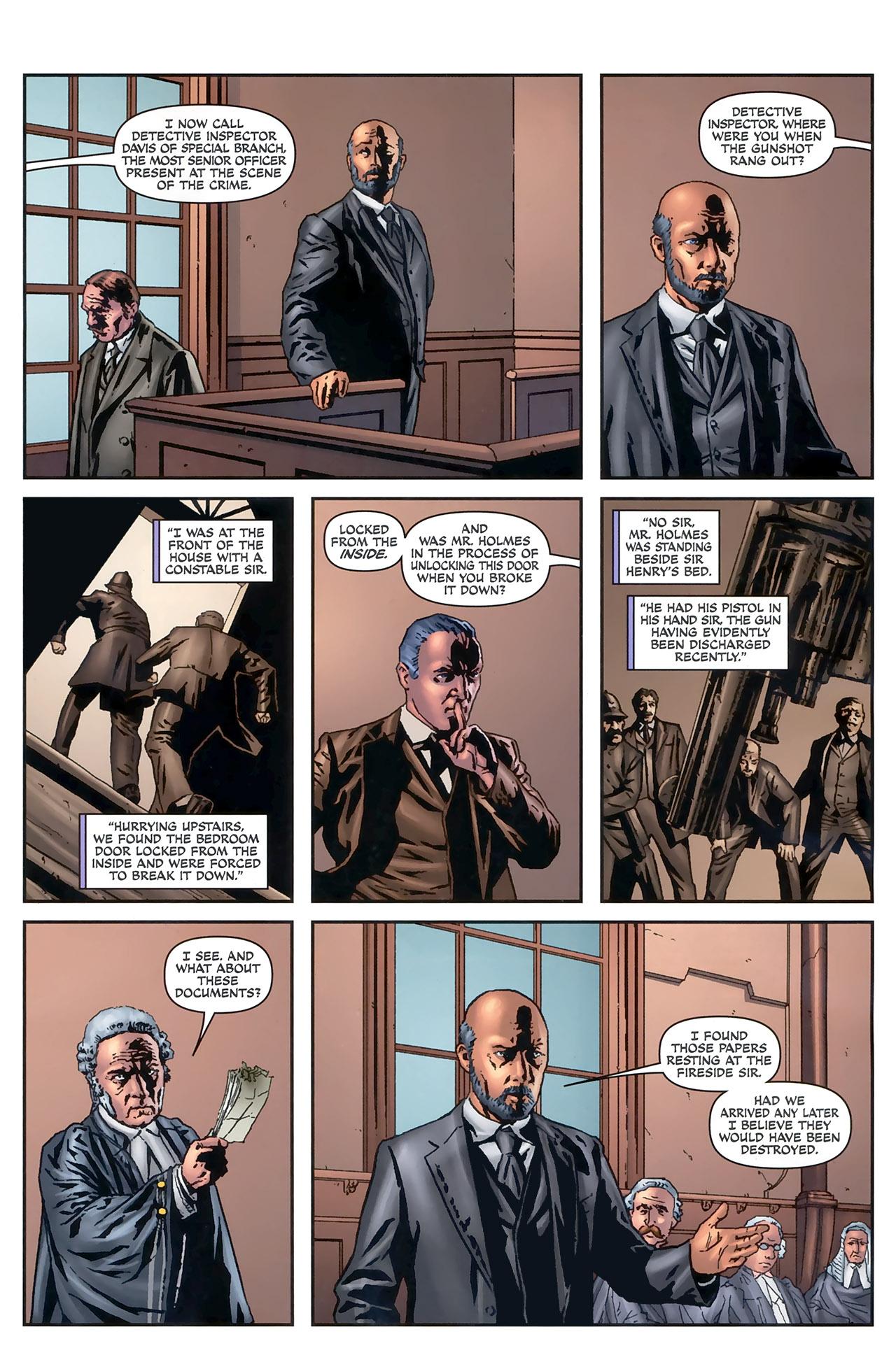 Read online Sherlock Holmes (2009) comic -  Issue #5 - 9