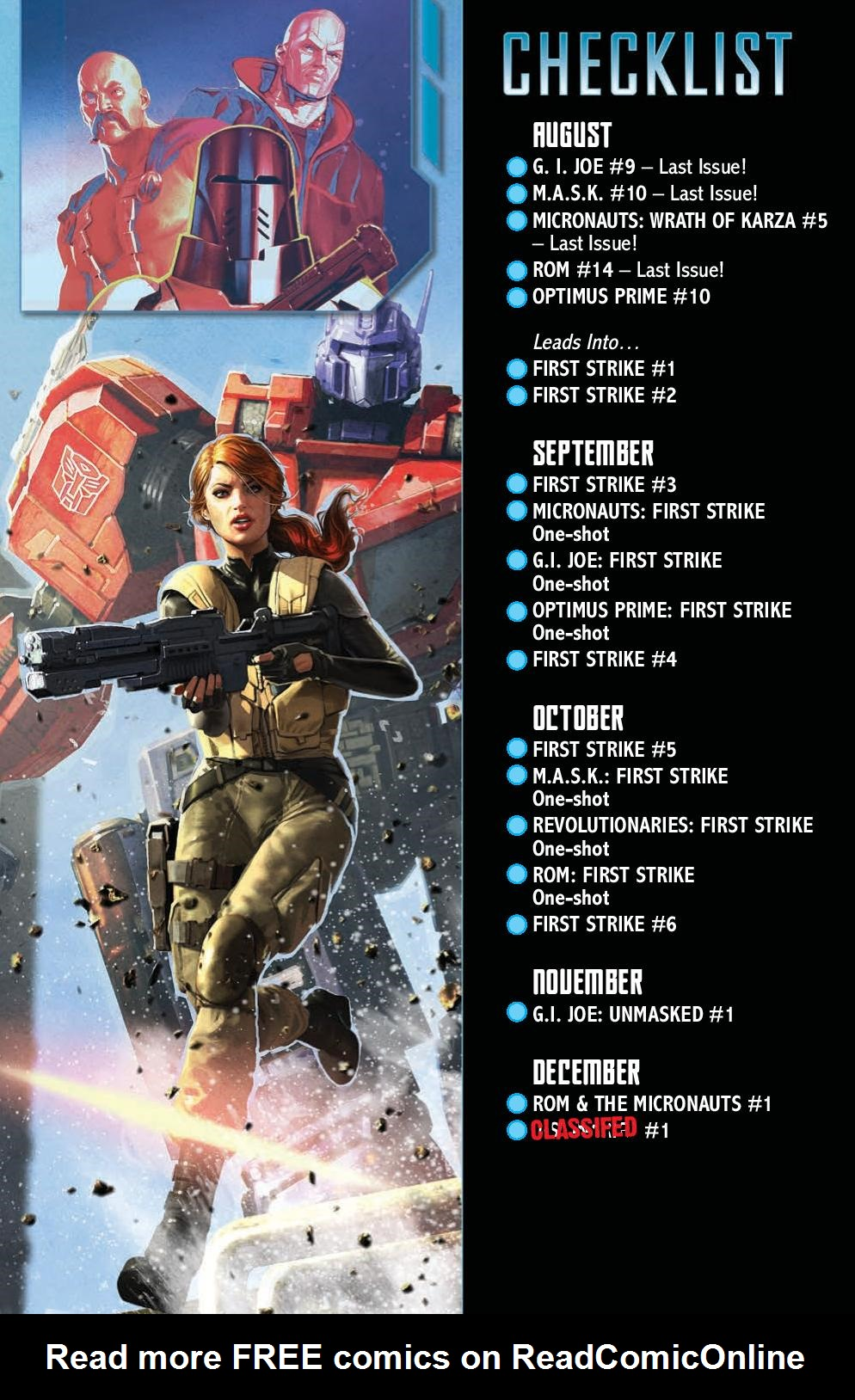 Read online First Strike comic -  Issue #0 - 16