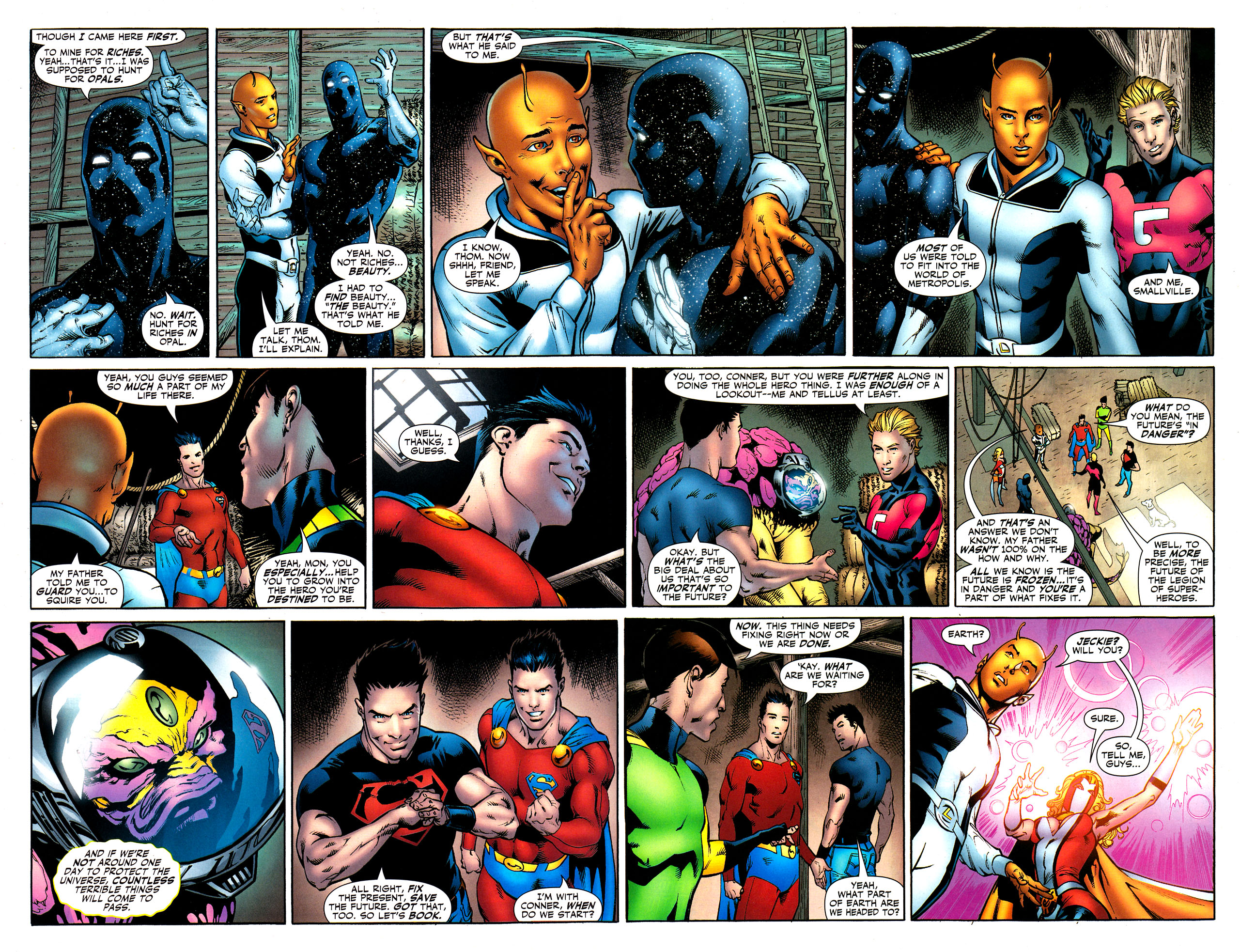 Read online Adventure Comics (2009) comic -  Issue #8 - 17